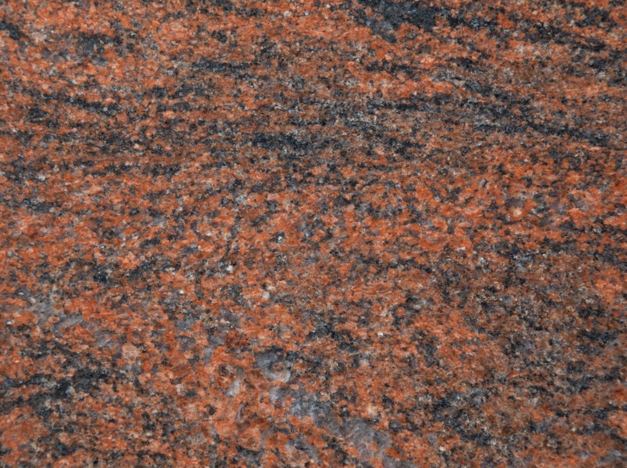 Multicolor Rosso - Multicolor Rosso granite originates from India. This type of stone is suitable for many designs but especially for kitchens, stairs, flooring and bathrooms. | Matter of Stuff