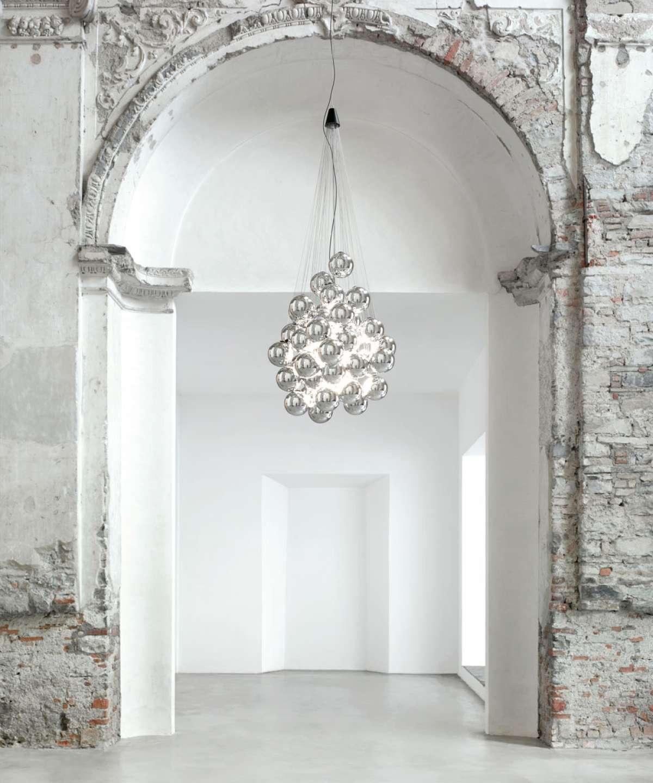 Stochastic Suspension Lamp