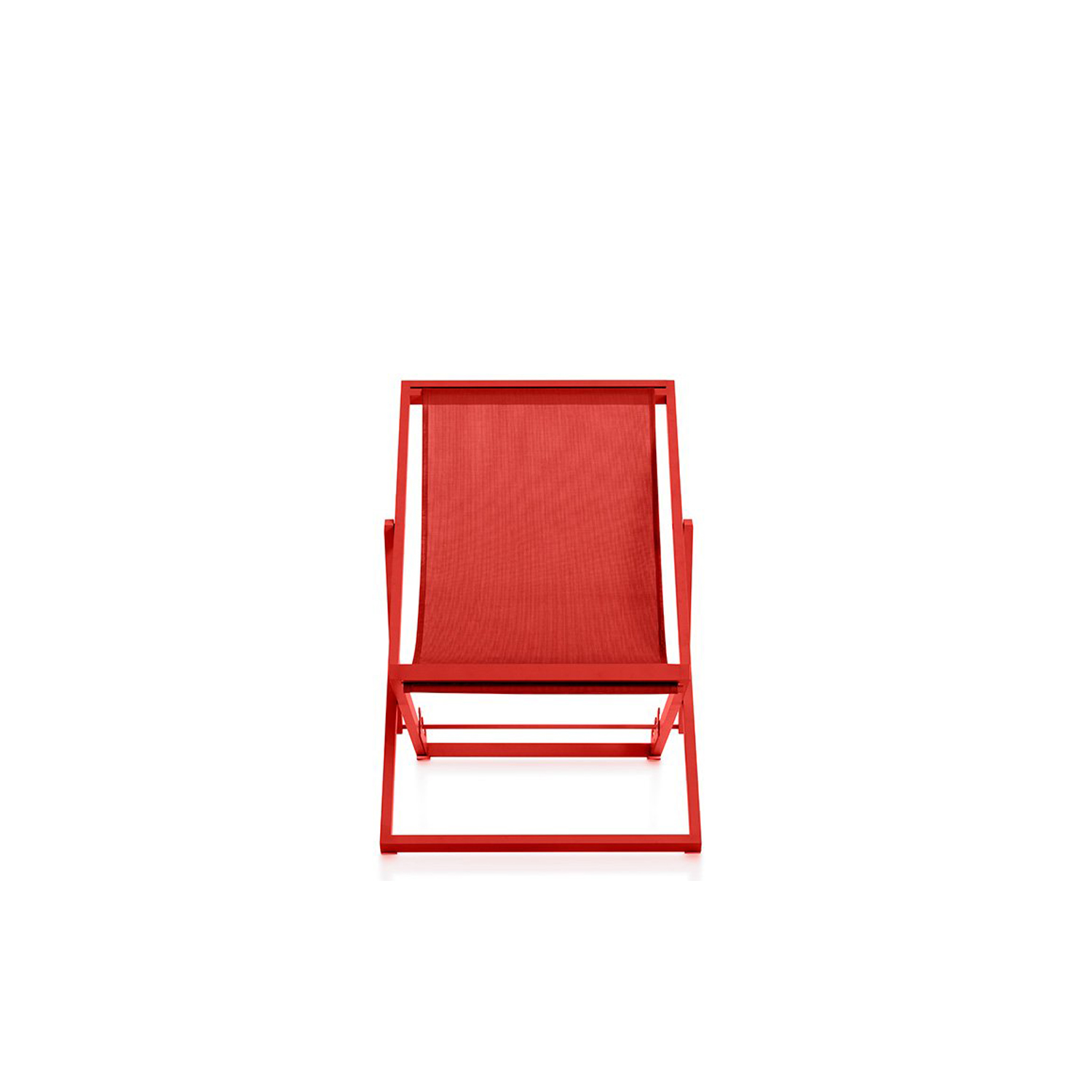 Picnic Deckchair - <p>Picnic is an improved version of the traditional folding garden deckchair. With a lighter and more hard-wearing design making it easier to carry to the beach or the park, Picnic can also be left outside permanently in all weather conditions. It's the ideal companion for enjoying a day out in the open air, plus it can be used at home both indoors and outdoors as it's foldable and very easy to carry around.</p> <p>Read, rest and relax, sunbathe… the back has three positions, at 105°, 120° and 130° so you can use it for all kinds of occasions. It's made from an ergonomic plastic fabric and has an aluminium structure, making it much more resistant to sun, water and salt than the traditional wood and canvas versions. Plus, both these materials need less maintenance.</p>    Matter of Stuff