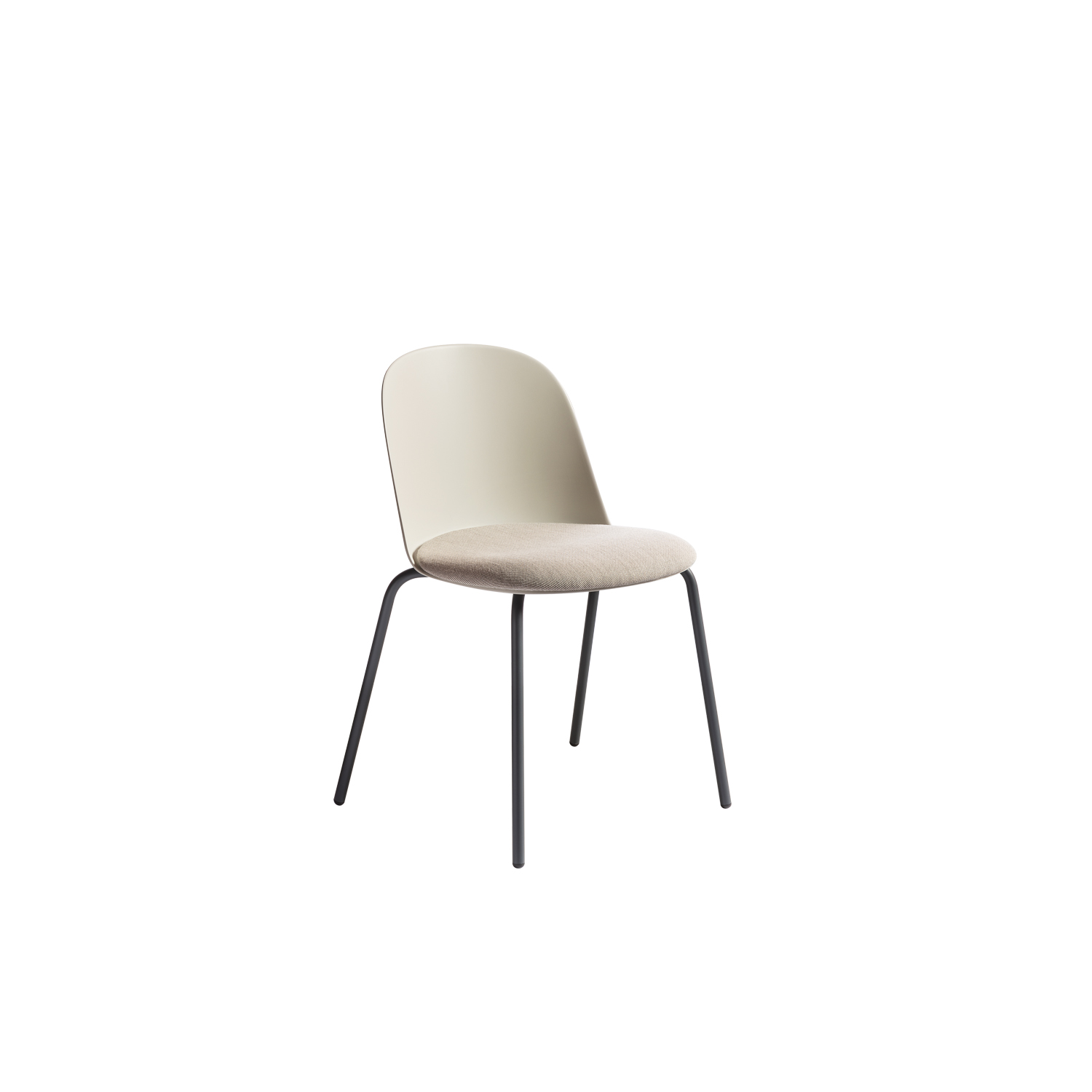 Mariolina Basic Chair - Mariolina came from an exploration into the world of polypropylene and its new developments, combining it with a delicate, honest aesthetic. The body is so simple that it can be drawn without the pen leaving the paper, balancing a careful style, attentive to the present, with the desire to break free of fashion. Mariolina is the answer to the need for an eclectic product, made with a contemporary production method and suitable for everyday life.