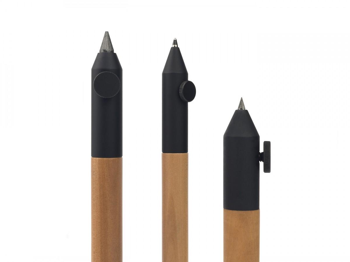 Neri Wood Short Pencil