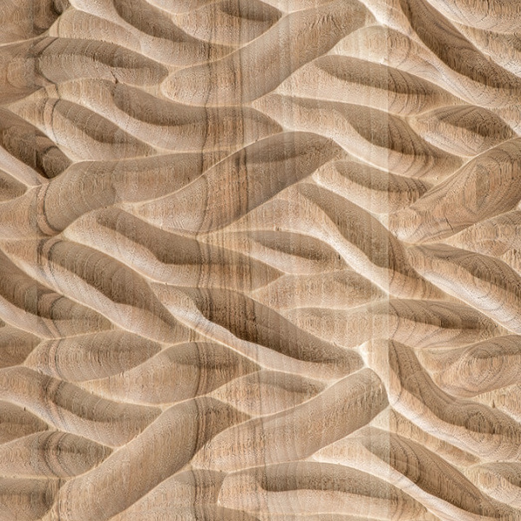 Wind Spirit - Each of these exquisite techniques, fine-tuned over the years, is at the disposal of the client for interventions or bespoke items. The surface finishes allow the team to shape the surface, giving the piece a specific external appearance and tactile feel. All finishes are executed on the premises by hand, by their team of professionals. | Matter of Stuff