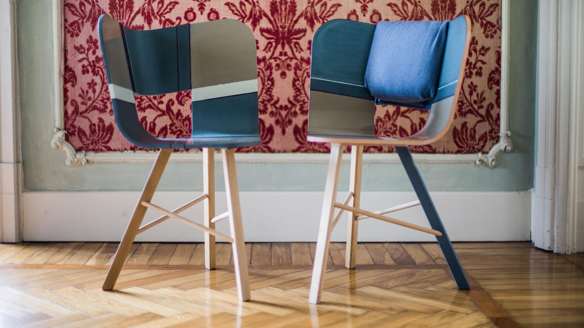 Tria 3 Chair with Cushion