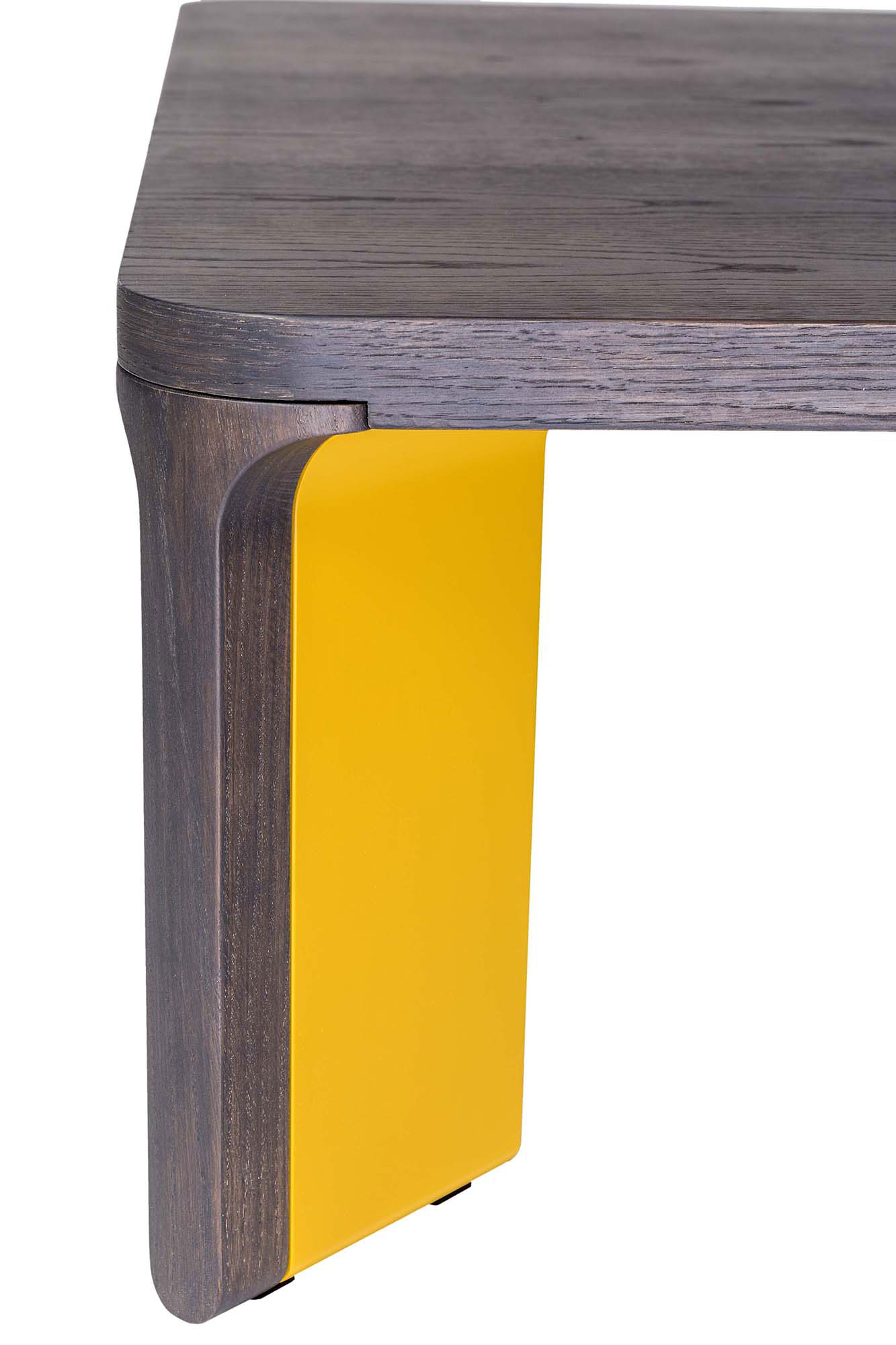 Acro-bat 007 Low Table - <p>Low table in various sizes with round corners. Top in wood<br /> and legs in two sections in wood and lacquer.</p>  | Matter of Stuff
