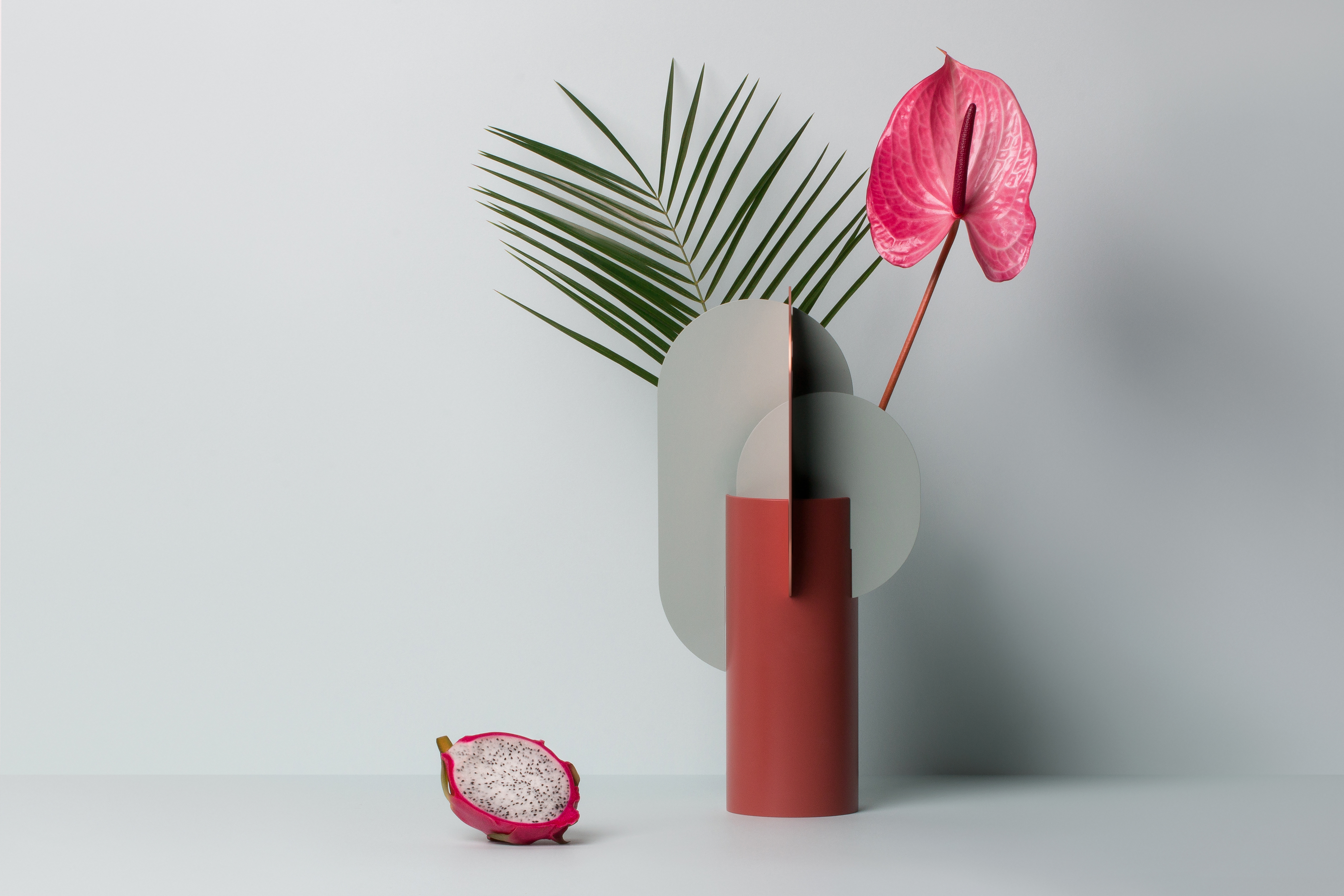 """Ekster Vase - <p>Ekster vase, one of the vases from the """"Suprematic"""" collection. <br />Collection inspired by the geometric works of the great Suprematist Kazimir Malevich. Suprematism is a modernist movement in the art of the early twentieth century, focused on the basic geometric forms, such as circles, squares, lines and rectangles.<br />The geometric structure of the vase is not only a décor, but also functional divider and holder for flowers, which allow you to create elegant compositions. <br />Even an empty vase will always look like a small art object in your house.</p>  
