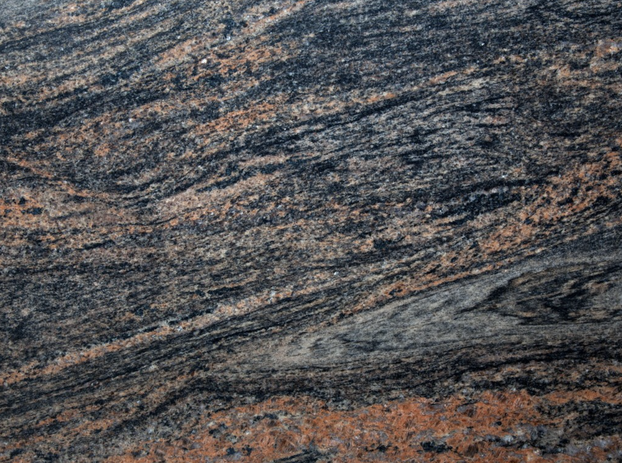 Paradiso Bash - Paradiso Bash Granite is originated from India, has brown and grey colours. This granite is very popular among buyers and suitable for residential and commercial designs.   Matter of Stuff