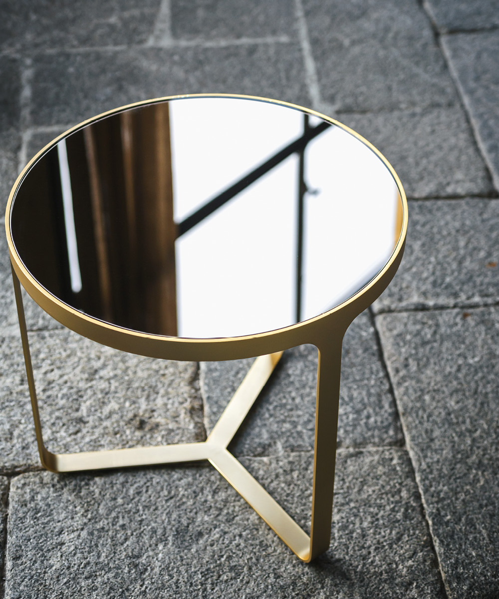 Cage Round Side Table