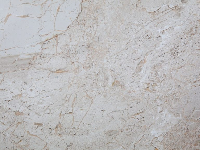 Breccia Sarda Marble - Breccia Sarda Marble is a light brown beige sedimentary rock with dark veins.   	Compression tensile strength 2048 kg/cm²   	Tensile strength after freeze-thaw cycles 1454 kg/cm²   	Unitary modulus of bending tensile strength 152 kg/cm²   	Heat expansion coefficient 0,0039 mm/m°C   	Water imbibition coefficient 0,004000   	Impact strength 34 cm   	Mass by unit of volume 2620 kg/m³  | Matter of Stuff
