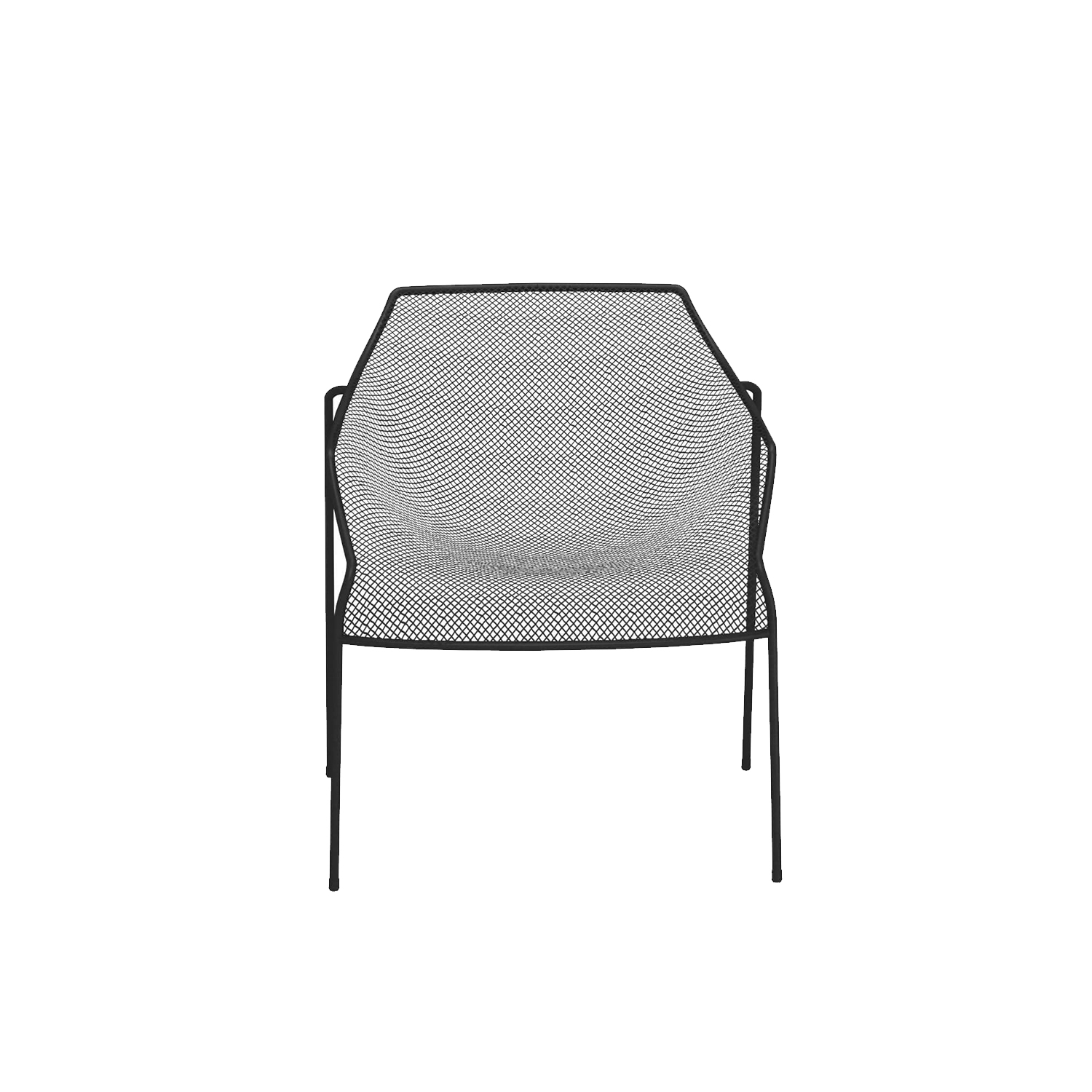 Heaven Armchair - Set of 2 - <p>The idea underlying the Heaven project is that of lightness derived from forms emerging from hollow spaces bordered by interweaving lines. The thin, woven steel frame is the distinctive feature of a collection marked by well-proportioned lines and overall harmony. Steel chairs paired with transparent glass tops lighten the table surfaces, lending them an intangible quality.</p>  | Matter of Stuff