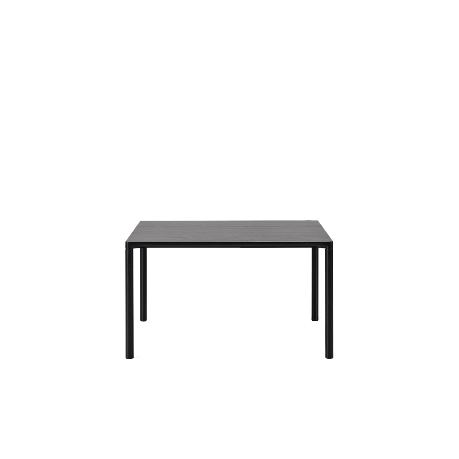 Piloti 6720 Side Table - Piloti is a series of solid oak side tables. The subtle detailing of the table top creates the impression of a single line, floating between four delicate legs. The tables are supplied in two heights and can be combined as a nest.