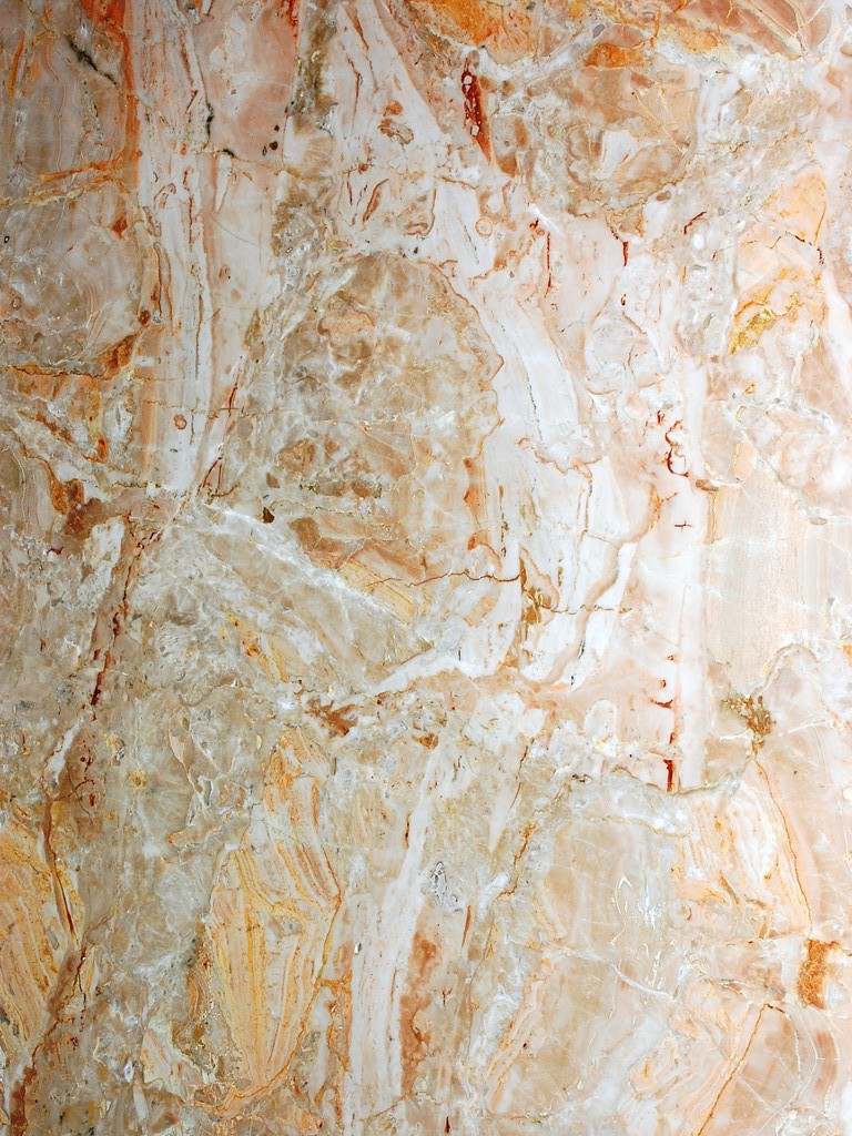 Breccia Oniciata Marble - Breccia Oniciata is a beige coloured marble with light brown and white shades.   	Compression tensile strength851 kg/cm²  	Tensile strength after freeze-thaw cycles346 kg/cm²  	Unitary modulus of bending tensile strength105 kg/cm²  	Heat expansion coefficient0,0037 mm/m°C  	Water imbibition coefficient0,007200  	Impact strength31 cm  	Mass by unit of volume2715 kg/m³  | Matter of Stuff