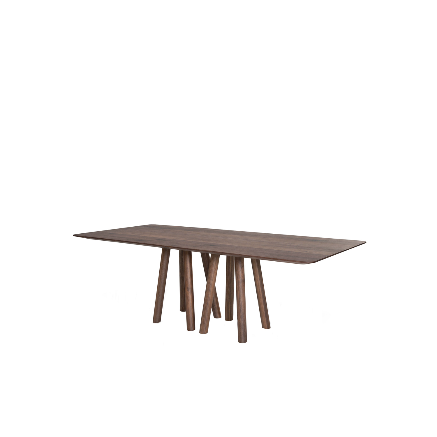Mos-I-Ko 001 A Table - A table in various sizes with a rectangular shaped top with and thin