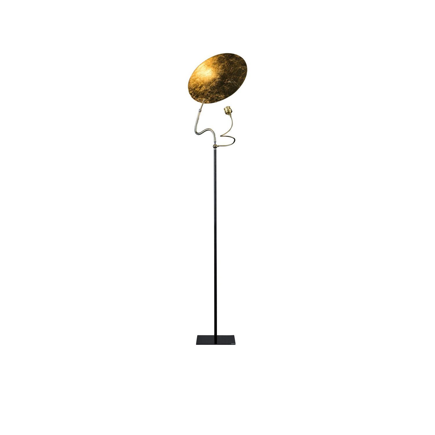 Luce d'Oro F Floor Lamp - Luci d'Oro was developed after reflecting on the colour of light: the golden light of the sun and fire; warm light, in which the concept of refraction began to take shape in Enzo Catellani's mind and which he used later in other creations. | Matter of Stuff