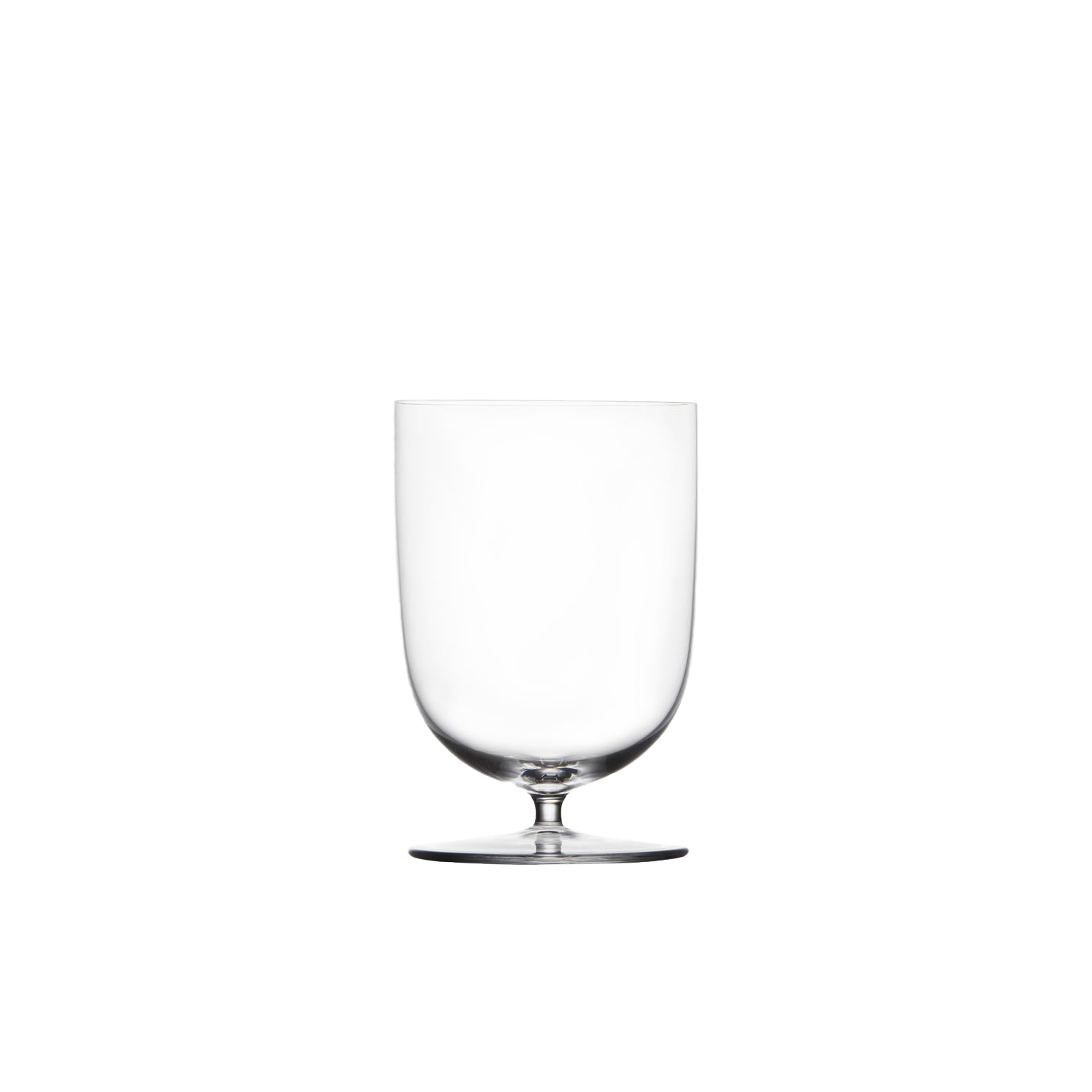 Drinking Set No.280 Wiener Gemischter Satz Water Glass - Set of 6 - POLKA a young and sucessful design studio from Austria wanted to create a simple Lobmeyr series to be used for personal everyday rituals. Each glass radiates elegance and grace of mouth-blown Lobmeyr crystal and each of the small series has its own story. So do the oenological correct wine glasses or the traditional champagne cup, standing for ebullient pleasure. | Matter of Stuff