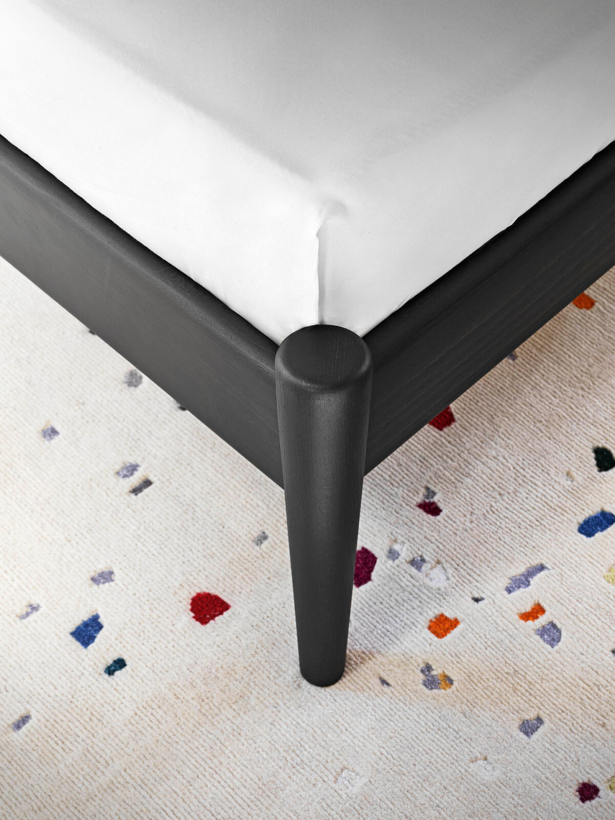 After Party Rug - The subtle and abstract nature of the design is the result of Garth Roberts' research and experimentation. Exploring contemporary and traditional graphics and texture, the haphazard nature of the design was inspired by the world of celebration, confetti and life's fleeting moments. Creating a subtle and abstract graphic where the apparent randomness of the design has been translated by Tibetan artisans with over 152 000 individual knots per square meter. A randomness which has been custom made and born through experimentation.   - Custom size, colours and materials available   Matter of Stuff