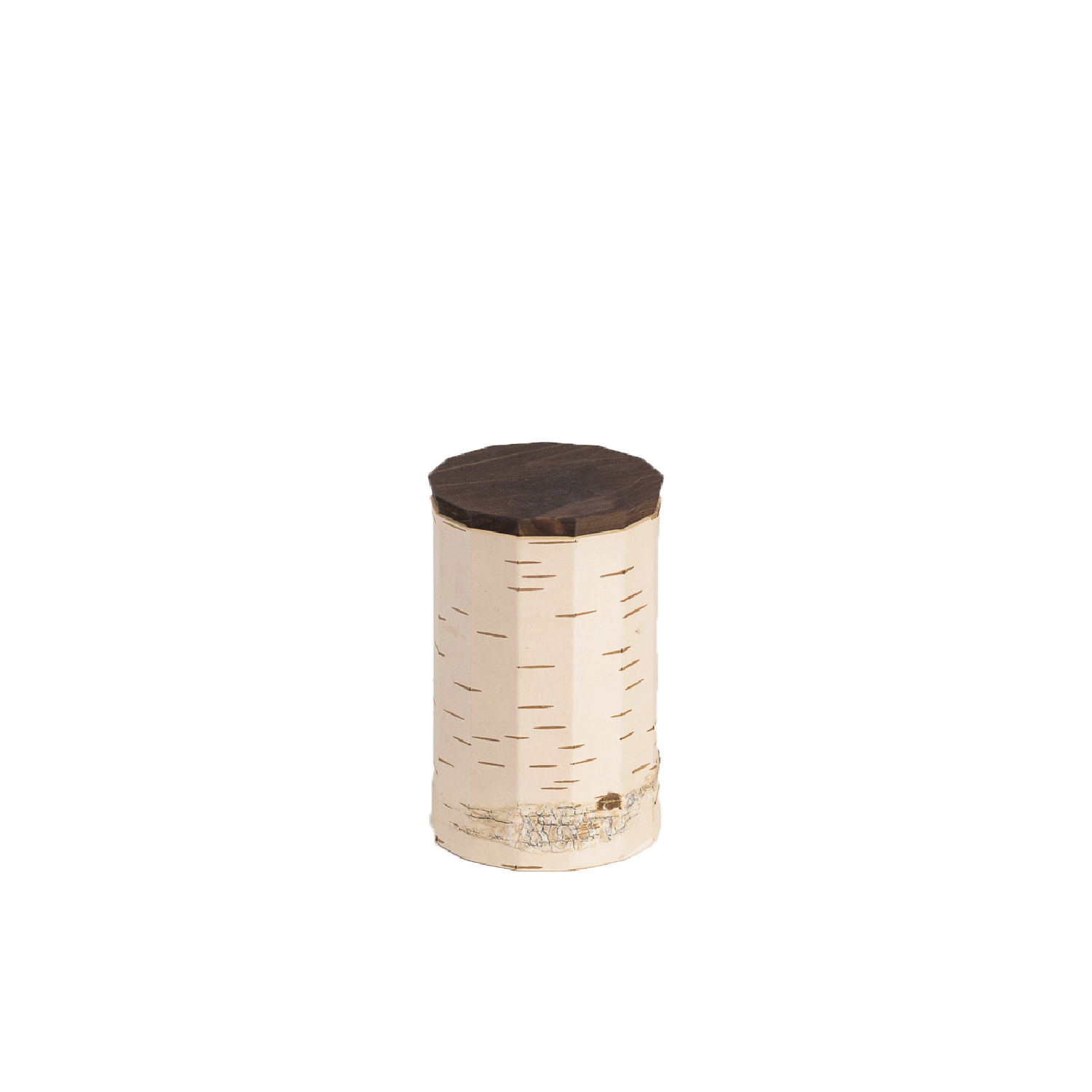 Tuesa Food Container - Antibacterial, insulating, water-resistant and particularly light birch bark containers keep foodstuffs fresh for longer and are incredibly durable while being low maintenance at the same time. The containers are best suited for storing biscuits, cereal, pasta, berries, legumes, and any other loose dry foodstuffs. They are also perfect for the aroma-sealing storage of tea, coffee, spices and nuts.  Tuesa guarantee a non-slip warm surface and a secure grip even when wet – you can even rinse them with water if needed. Birch bark is characterised above all by its robustness and extreme longevity, whilst not requiring any maintenance. Products made from it bring joy for a long time and can be passed down through generations as heirlooms.  Tuesa T13 has a capacity of, for example, 250g coffee, 550g sugar and 250g fine oatmeal  Tuesa TN13 has a capacity of, for example, 450g sugar and 220g fine oatmeal.  Tuesa T9 has a capacity of, for example, 350g coffee, 600g sugar and 300g fine oatmeal.  Tuesa TN9 has a capacity of, for example, 500g sugar and 250g fine oatmeal.  Tuesa T7 has a Capacity up to 1.5 kg spaghetti.  Birch bark, pine wood Surface: water-based wood stain, bees wax      | Matter of Stuff
