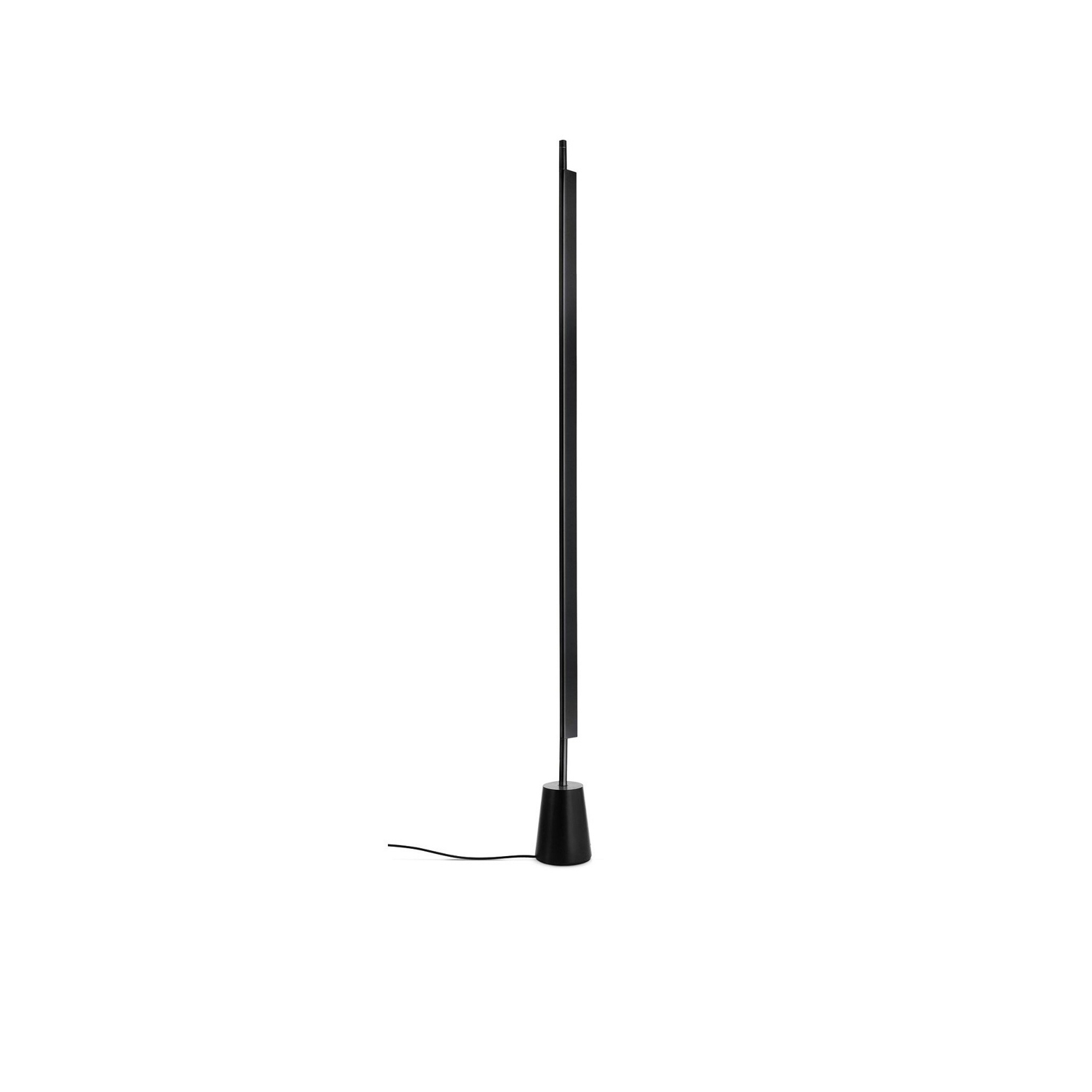 Compendium Floor Lamp - The Compendium floor version provides a diffuse light. The body houses a high-efficiency LED source and rotates freely on the base to direct the light towards the wall, preventing direct glare.  | Matter of Stuff