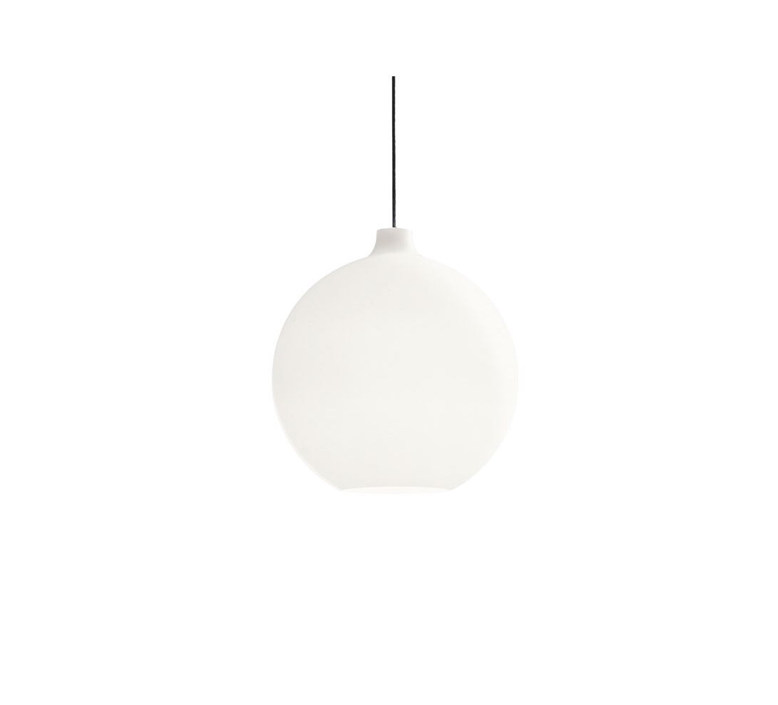 Wohlert Pendant Lamp - The fixture provides uniform, general and diffuse illumination. The opening at the bottom of the glass produces downwards directed light. The quality of the glass ensures that the fixture is evenly lit.   | Matter of Stuff