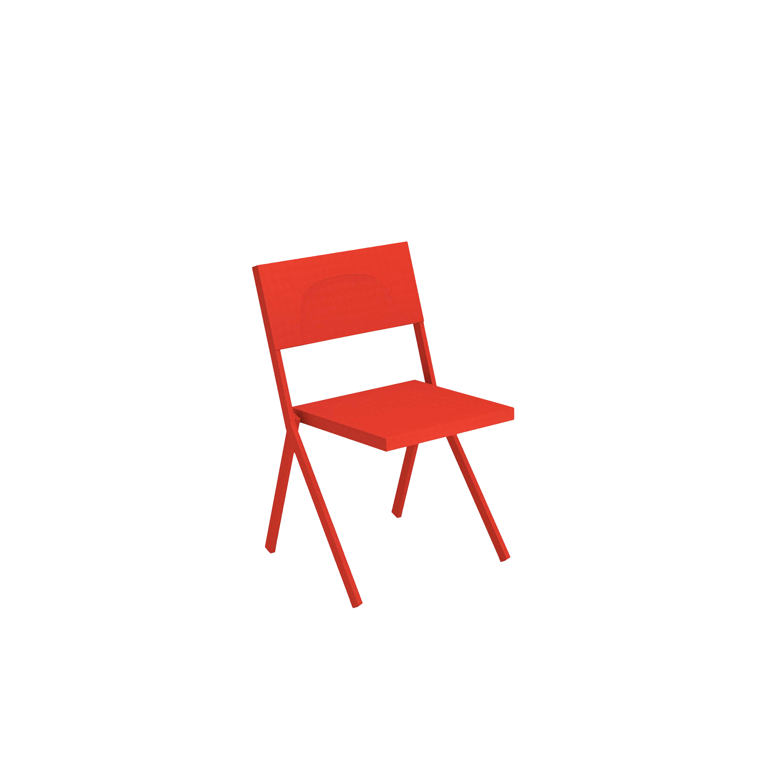 Mia Chair - Set of 4 - Created by the visionary Jean Nouvel, this is a collection that looks to the future to establish itself as an icon of urban furniture. Mia, with its minimal design and formal shapes, can bring character to any setting, both outdoor and indoor. Table and chairs are easily placed, even in the smallest of spaces, bringing an immediate and unmistakable charm to their surroundings. Versatile and iconic Mia furniture offers the perfect blend of design, functionality and strength for simple, sophisticated spaces.  | Matter of Stuff
