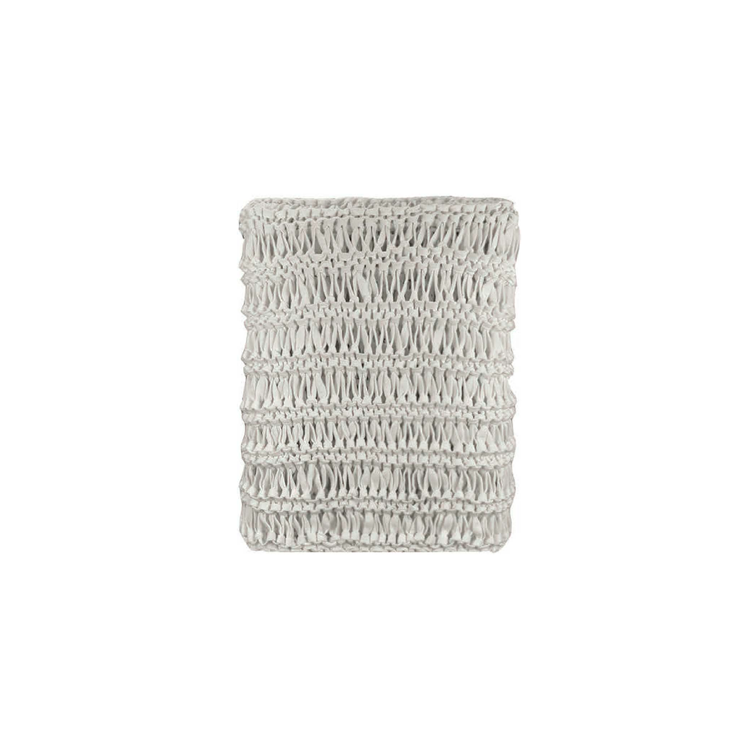 Antwerp Knitted Cotton Throw - The Antwerp Line is carefully knitted within a trained community of women that found in their craft a way to provide for their families, each one of these cushions and throws is unique.  Elisa Atheniense Home soft indoors collection is made with natural cotton fibres, eco-friendly, handwoven or elaborated using traditional hand-loom techniques. The use of organic materials brings softness and comfort to the space. This collection combines their mission for responsible sourcing and manufacturing.  Please enquire for more information and see colour chart for reference.   | Matter of Stuff