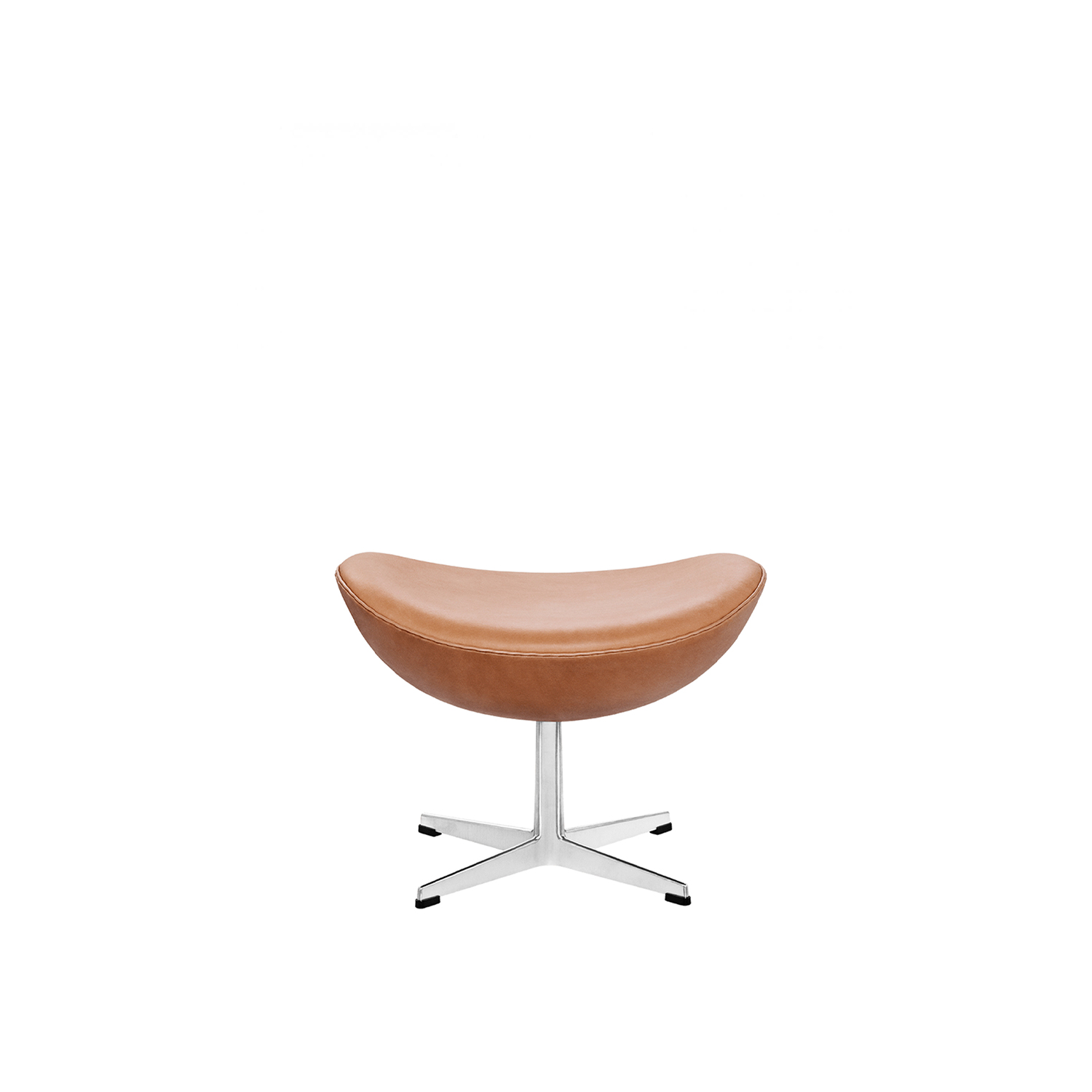 Egg Footstool - Arne Jacobsen's beautiful Egg™ becomes even more beautiful - and a tad more comfortable - with a matching footstool.