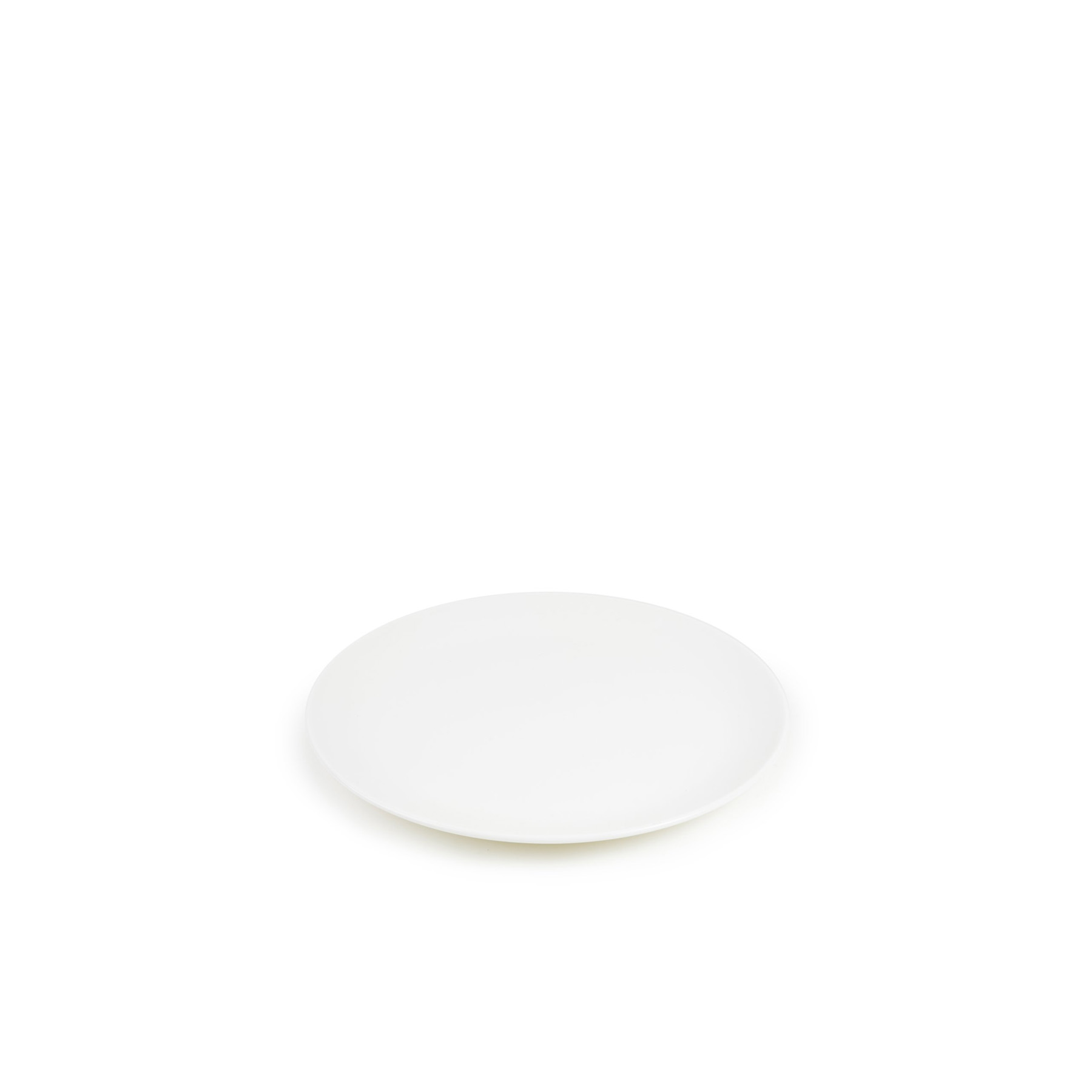White Dinner Plate - The purist fine bone china table ware. Designed by Chris Johnson and made in Stoke-on-Trent. This forms the base of all our collections and the most wonderful foundation for any table. Made in England. Microwave and dishwasher safe. | Matter of Stuff