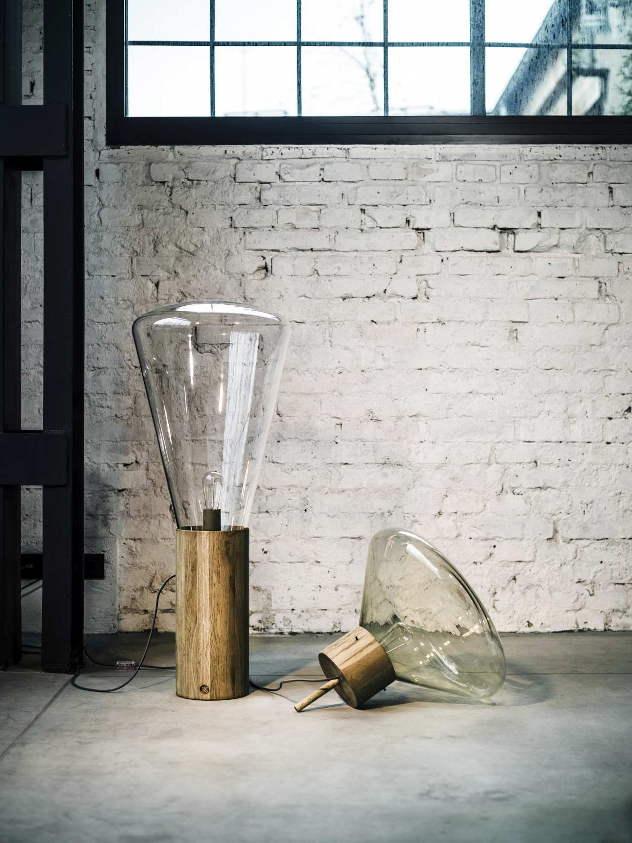 Muffin Wood 02 Table/Floor Lamp