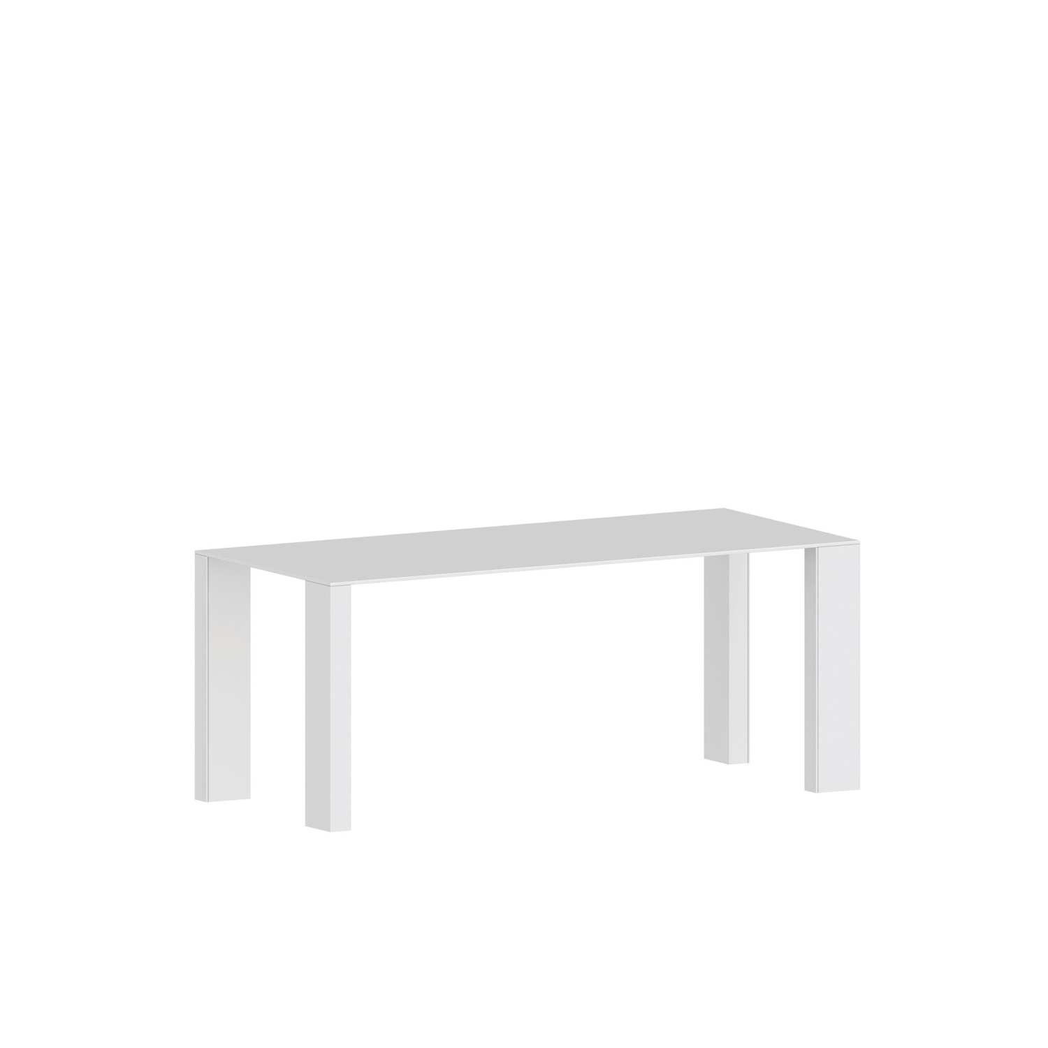 Big Gim Table - The Big Gim Table has a strong yet simplistic structure.  Designed by Franco Ragg the simplicity is its key feature and it means it can fit in various settings.   BIG IRONY products have intentionally not been painted because it is the surface irregularity which makes them so special. The daily use will form stains forming a patina which renders the surface even more beautiful. When delivered the surface BIG IRONY has undergone a final treatment with beeswax. Please clean it first with a dry rag in order to remove traces of oxidation and wax. To clean it use a non aggressive/soft detergent as it would be wood. Twice a year, we suggest to impregnate the surface with beeswax, removing it after one night as described above.  | Matter of Stuff