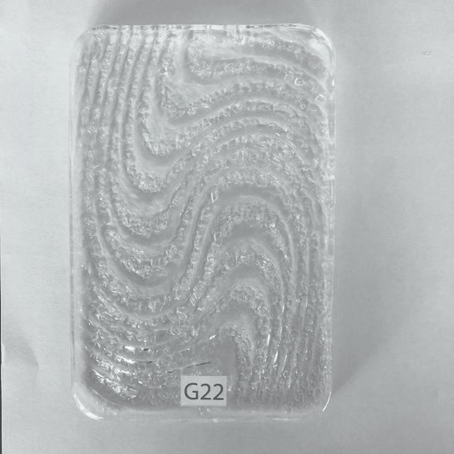 Cast Glass G22 -    Matter of Stuff