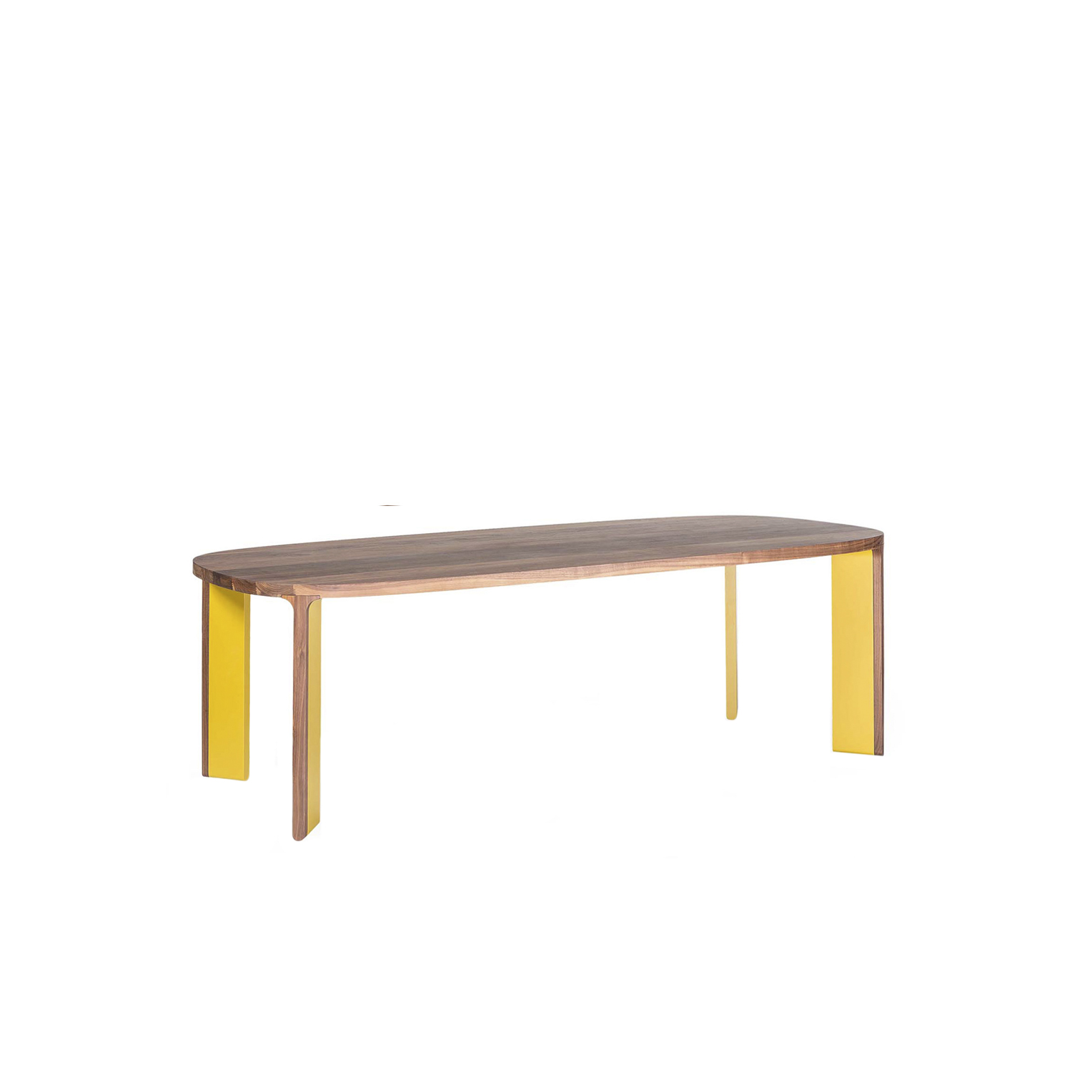 Acro-Bat 002 Dining Table - Table in various sizes. Soap top in wood and legs in two