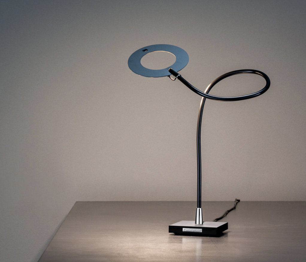 """Giulietta T Table Lamp - """"I wanted to create a lamp that bore the name of my daughter Giulia. It therefore had to be elegant, simple, discreet and gentle. This is why it took shape this way…"""" 