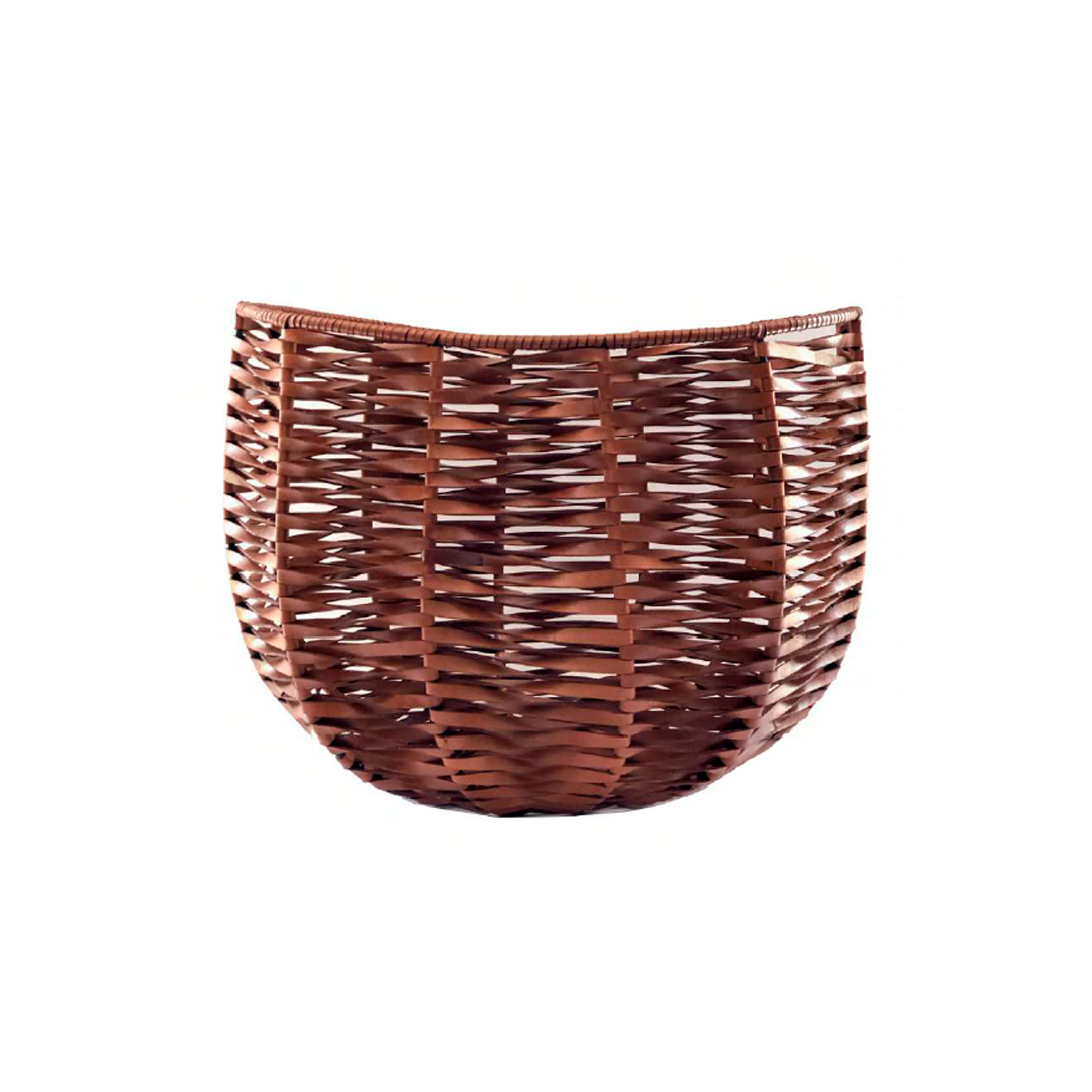 Vietnam Woven Leather Basket - Vietnam Woven Leather Basket is designed to complement an ambient with natural and sophisticated feeling, ideal when placed next your sofa or bed, perfect for magazines and throws storage. Elisa Atheniense woven leather pieces, are handmade and manufactured in Brazil using an exclusive treated leather that brings the soft feel and touch to every single piece.  Bespoke sizes are also available under project request as well as colours, see colour chart for reference. | Matter of Stuff