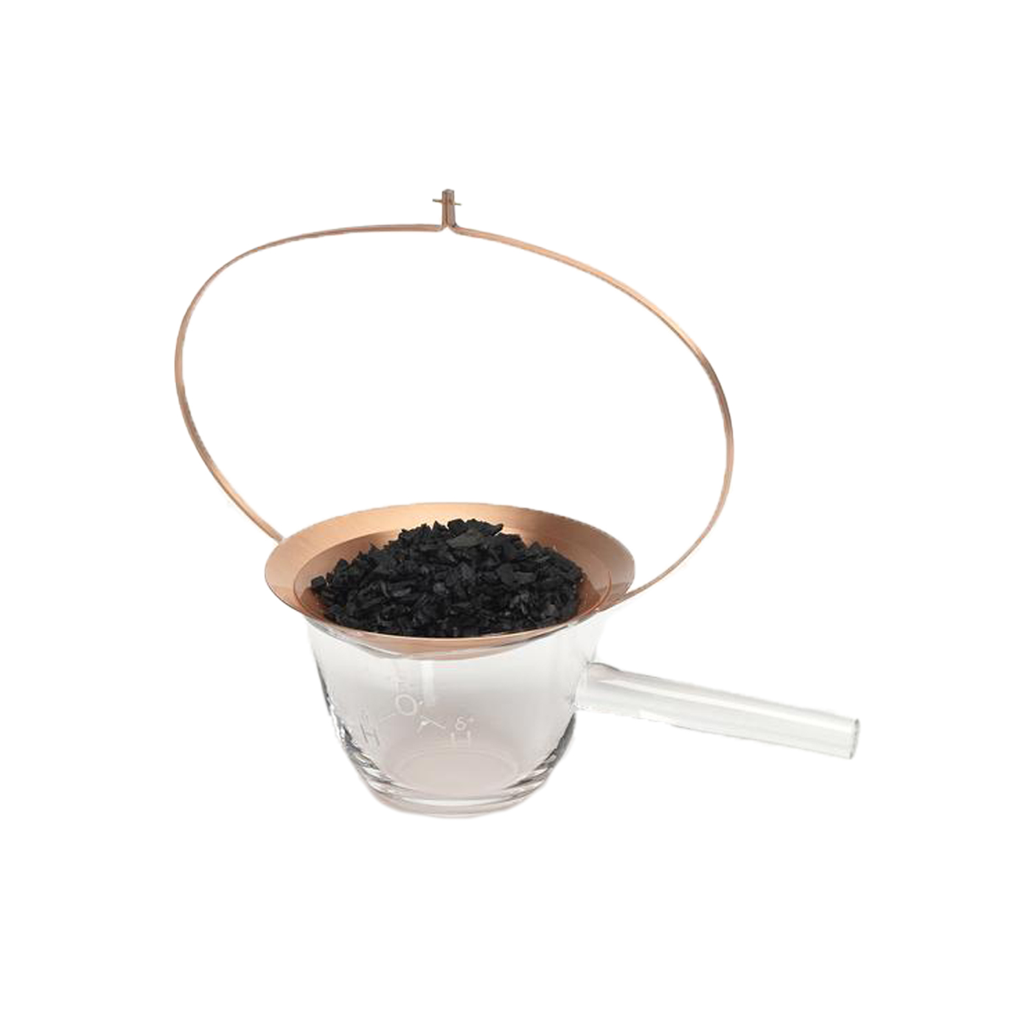 Still Medium Vessel Filter Charcoal Cup - What are the true luxury goods of today? For us, it's not glitter, gold, or heavy cut crystal vases. People of today need carefully designed and well-crafted objects. Pure drinking water is a treasure and this drinking set – STILL – reminds us to cherish and enjoy our world's most important resource. Formafantasma didn't come back with a single piece, but instead with a series that tells an evocative story. | Matter of Stuff