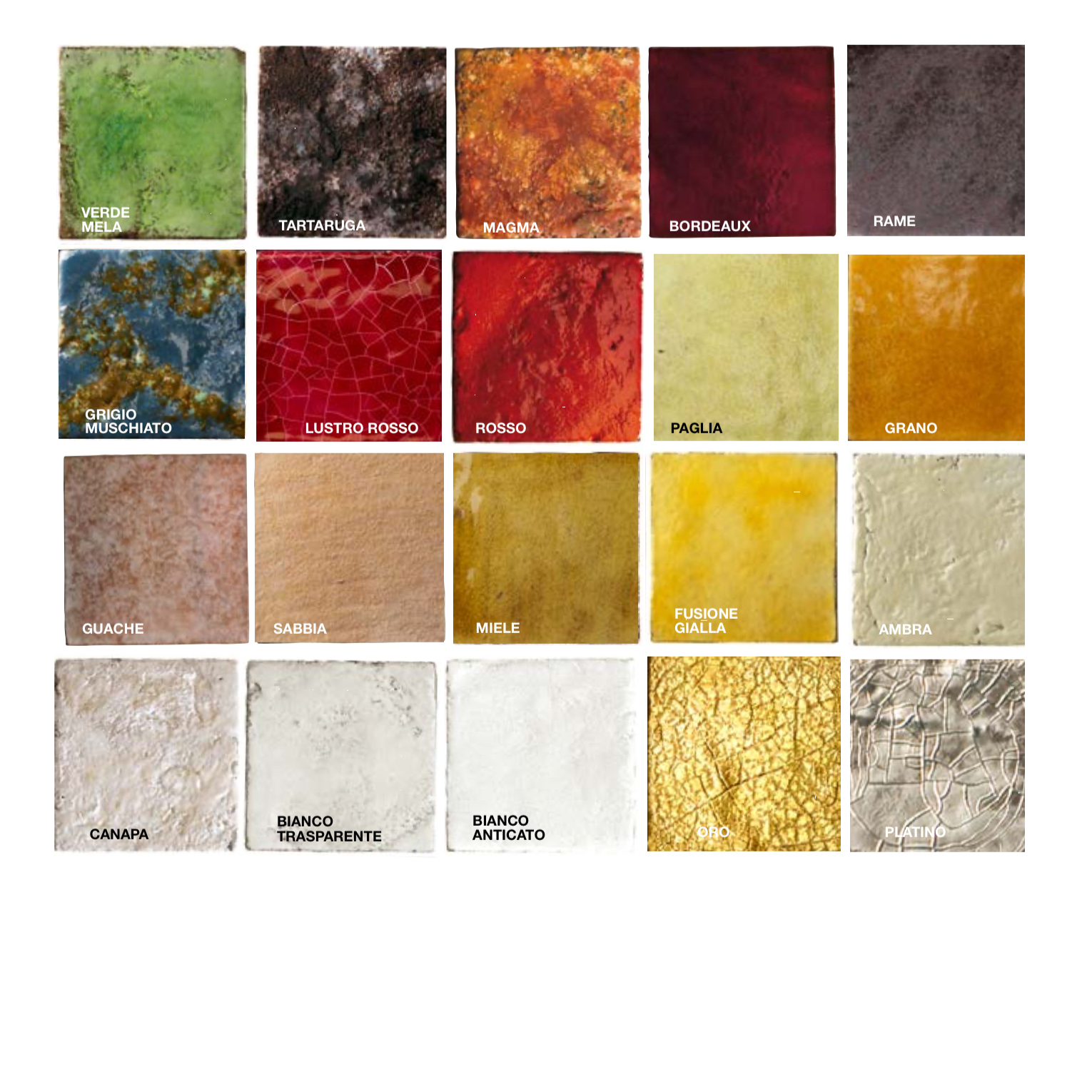 Square Cotto Tiles Mix Gold