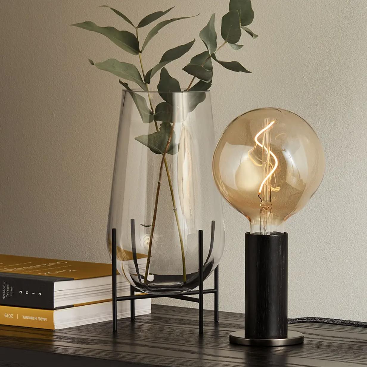 Blackened Knuckle Table Lamp