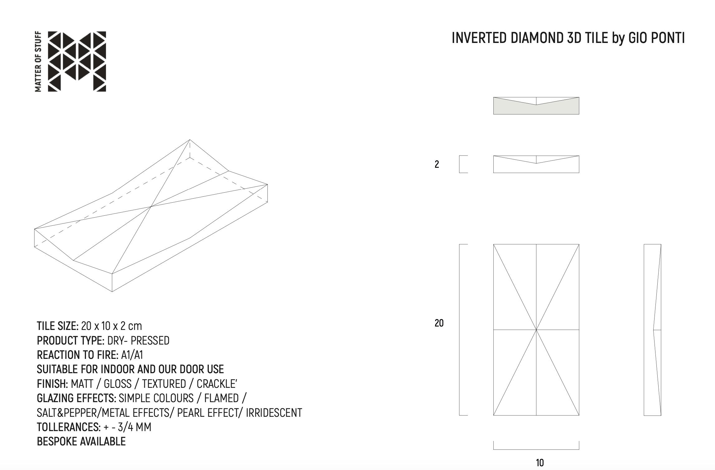 Inverted Diamond