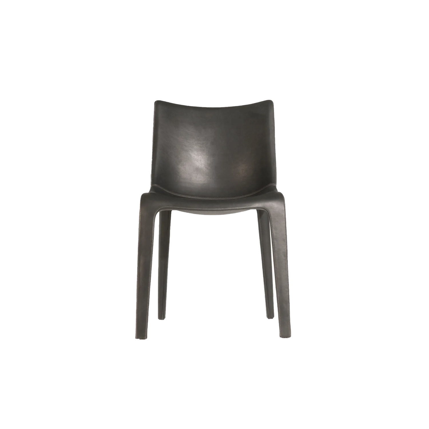 """Lou Eat Chair - """"Lou Eat is not a chair, it is an animal-like sculpture that could eat you."""" Philippe Starck. Lou Eat and Lou Think, along with Lou Read, form the Lou read family, a seating collection that features plastic sculptural shapes. Lou Eat is the easiest and most versatile item in the collection, a small armchair upholstered in leather. Conceived as a dining room seat, it is also ideal as the sole protagonist of spaces. """"Lou Eat is not a chair, it is an animal-like sculpture that could eat you."""" Philippe Starck. Lou Eat and Lou Think, along with Lou Read, form the Lou read family, a seating collection that features plastic sculptural shapes. Lou Eat is the easiest and most versatile item in the collection, a small armchair upholstered in leather. Conceived as a dining room seat, it is also ideal as the sole protagonist of spaces. """"Lou Eat is not a chair, it is an animal-like sculpture that could eat you."""" Philippe Starck. Lou Eat and Lou Think, along with Lou Read, form the Lou read family, a seating collection that features plastic sculptural shapes. Lou Eat is the easiest and most versatile item in the collection, a small armchair upholstered in leather. Conceived as a dining room seat, it is also ideal as the sole protagonist of spaces. """"Lou Eat is not a chair, it is an animal-like sculpture that could eat you."""" Philippe Starck. Lou Eat and Lou Think, along with Lou Read, form the Lou read family, a seating collection that features plastic sculptural shapes. Lou Eat is the easiest and most versatile item in the collection, a small armchair upholstered in leather. Conceived as a dining room seat, it is also ideal as the sole protagonist of spaces. 