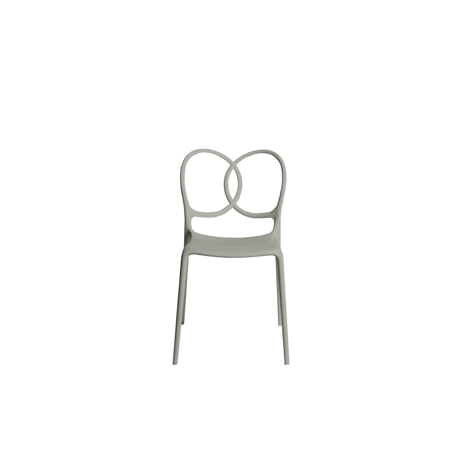 """Sissi Chair - Sissi is a sculptural, very versatile, self- centred and contemporary piece. """"Its modern design winks cheekily at the past and at the female world. The merging and intersecting rings look as if they have been bent by the hand of the viennese craftsmen, whom since over a century ago, would offer the world an elegant and design archetype. The connections, linked in such a sensual way, turn sissi into a refined and sculptural piece, just like the ultimate viennese chair - famous for its wooden curves- it is inspired by. Just like a confident, self-assured women changes her clothes to suit her mood, this chair is complemented by an essential part of its design, the seat cover.""""Ludovica and Roberto Palomba.   