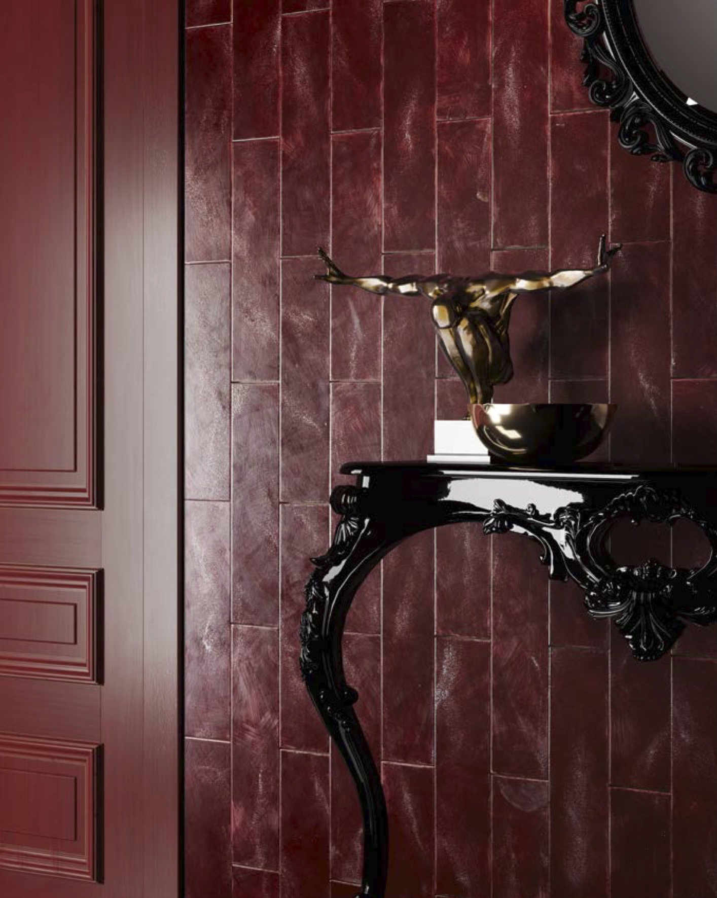Rectangular Tiles Red