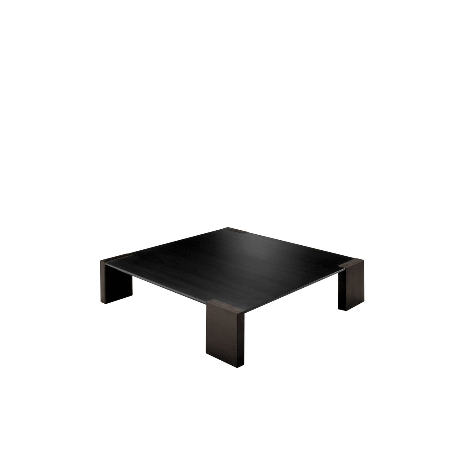 Ironwood Coffee Table - The Ironwood Coffee Table comes in two sizes and it perfect when placed in a living room or in a communal space. The top is in natural sheet steel with a black phosphatized finish finalised with bee' wax.