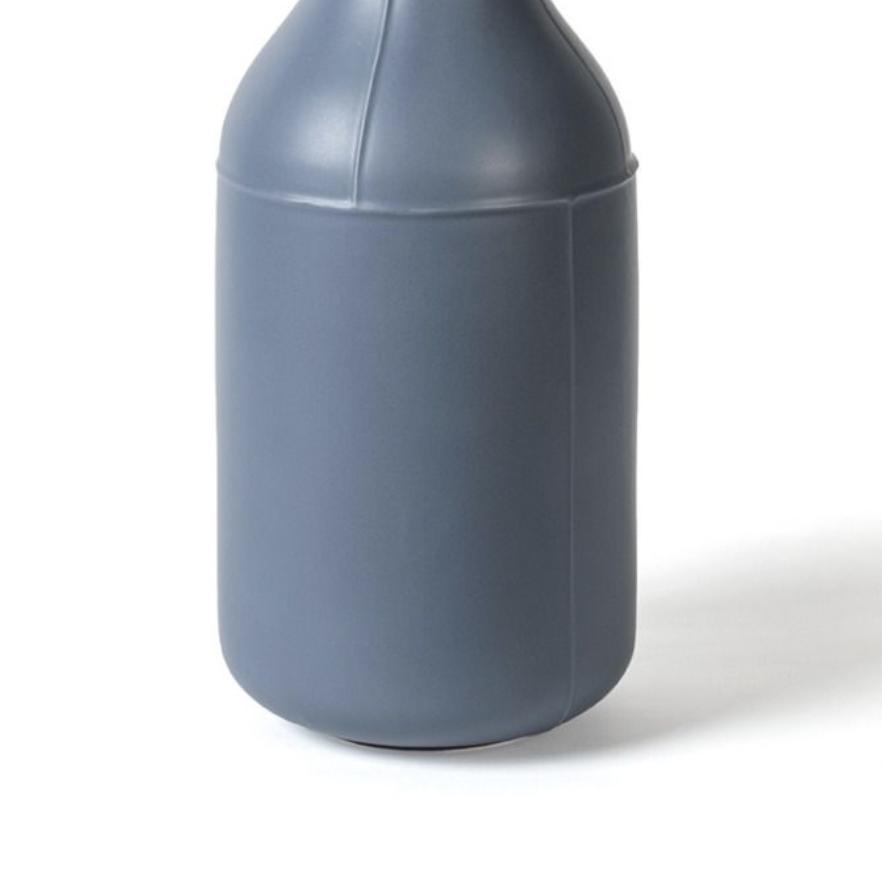 Light Blue Bottle Vase
