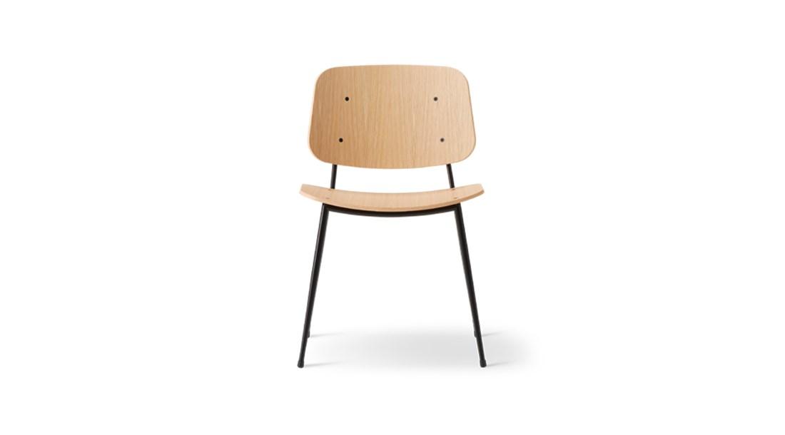 Soborg Metal Base Chair