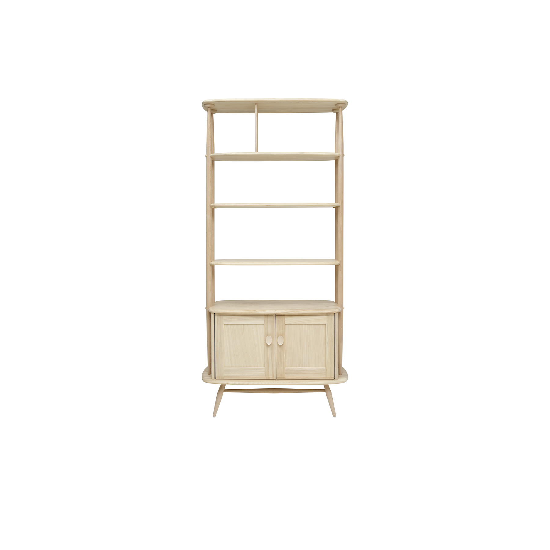 Originals Room Divider - <p>The Ercol Originals are pieces of timeless and classic design that never date or show their age. It is furniture that is as relevant and as functional now as it was when it was created in the 1950s and 1960s. This furniture was designed by Ercol's founder, Lucian Ercolani, who drew for his inspiration on the time-proven local design and craft in the Chiltern Hills around where he lived and built his first factory in 1920 in High Wycombe. Using the strength of beech and the beauty of elm he carried this definition on into a huge variety of dining, kitchen, and school chairs and then extended the idiom into the low easy chair range epitomised by the 206 armchair and the studio couch. The beauty of the colour and the grain of the elm took Lucian on to use elm for the tables and cabinets of the Originals and the following Windsor range. </p>