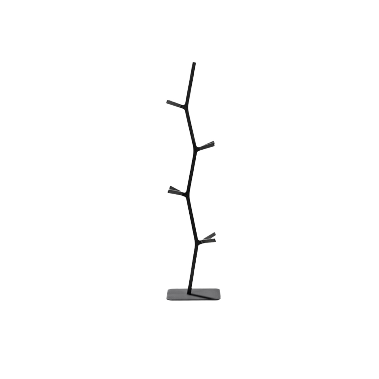 Nara Coat Stand - Nara Coat stand was designed by Shin Azumi as a way to utilise the off cuts from production of the Nara chair. The result is a sculptural object with a graphical silhouette.  Although many of our sofas and lounge chairs comprise our most celebrated designs, we have smaller pieces that are distinctive, well-crafted, modern originals in their own right. Pieces that add a touch of personality and practicality. A sense of cosiness. As punctuations to a style statement. Or just the pieces you were looking for to create a sense of completeness. Because when it comes to interior décor, sometimes the smallest detail can make the biggest difference. | Matter of Stuff