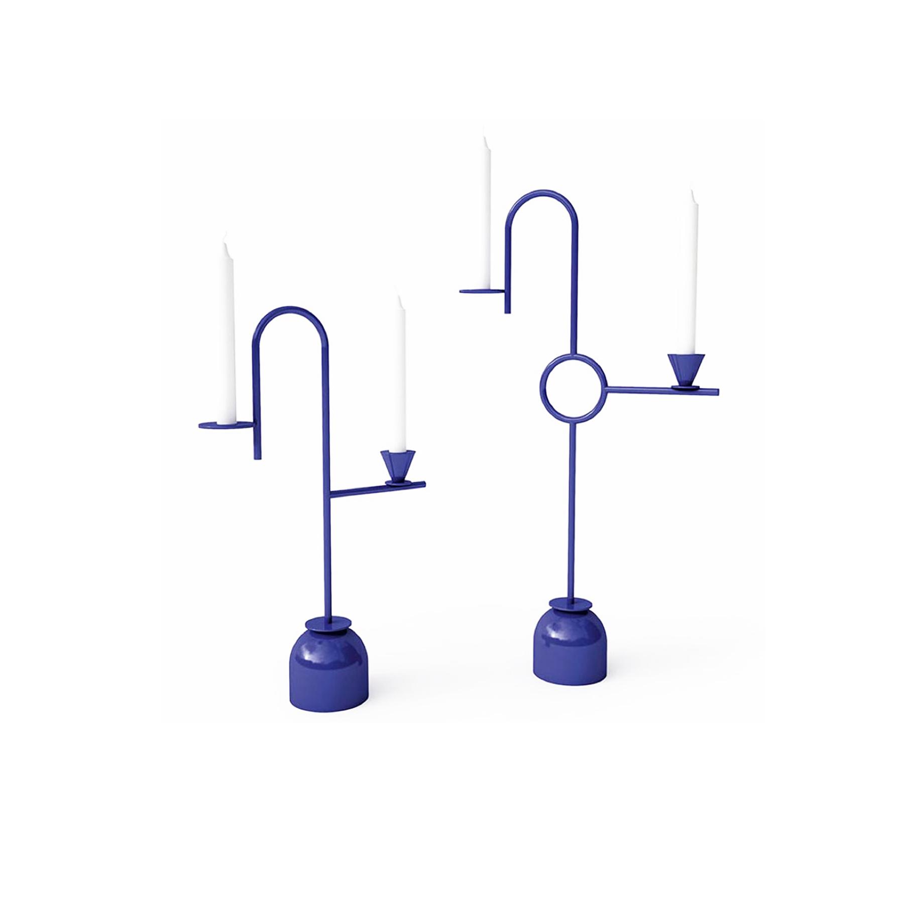 Blue No.1 Candleholder