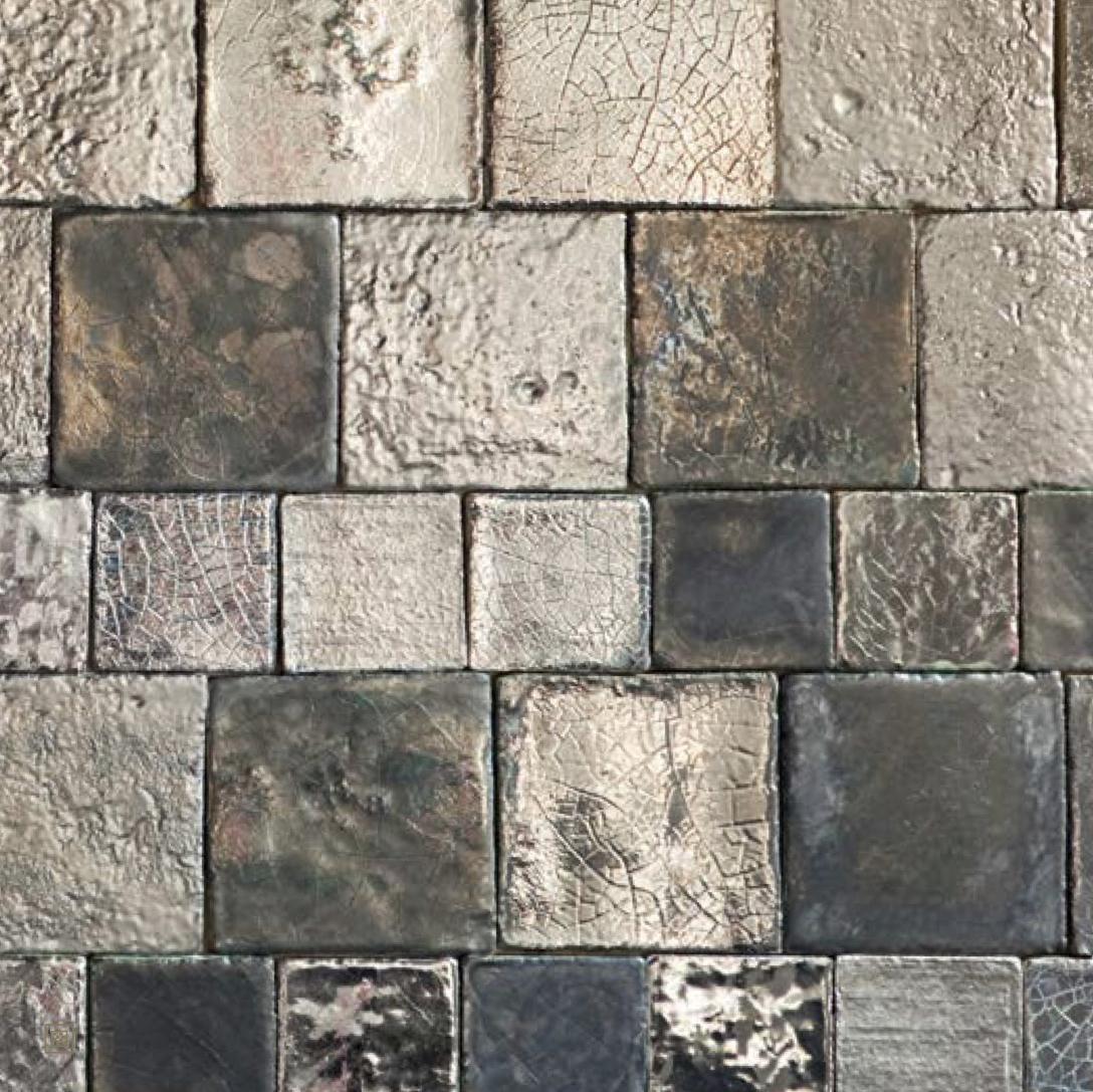 Square Cotto Tiles Mix Platinum -  | Matter of Stuff