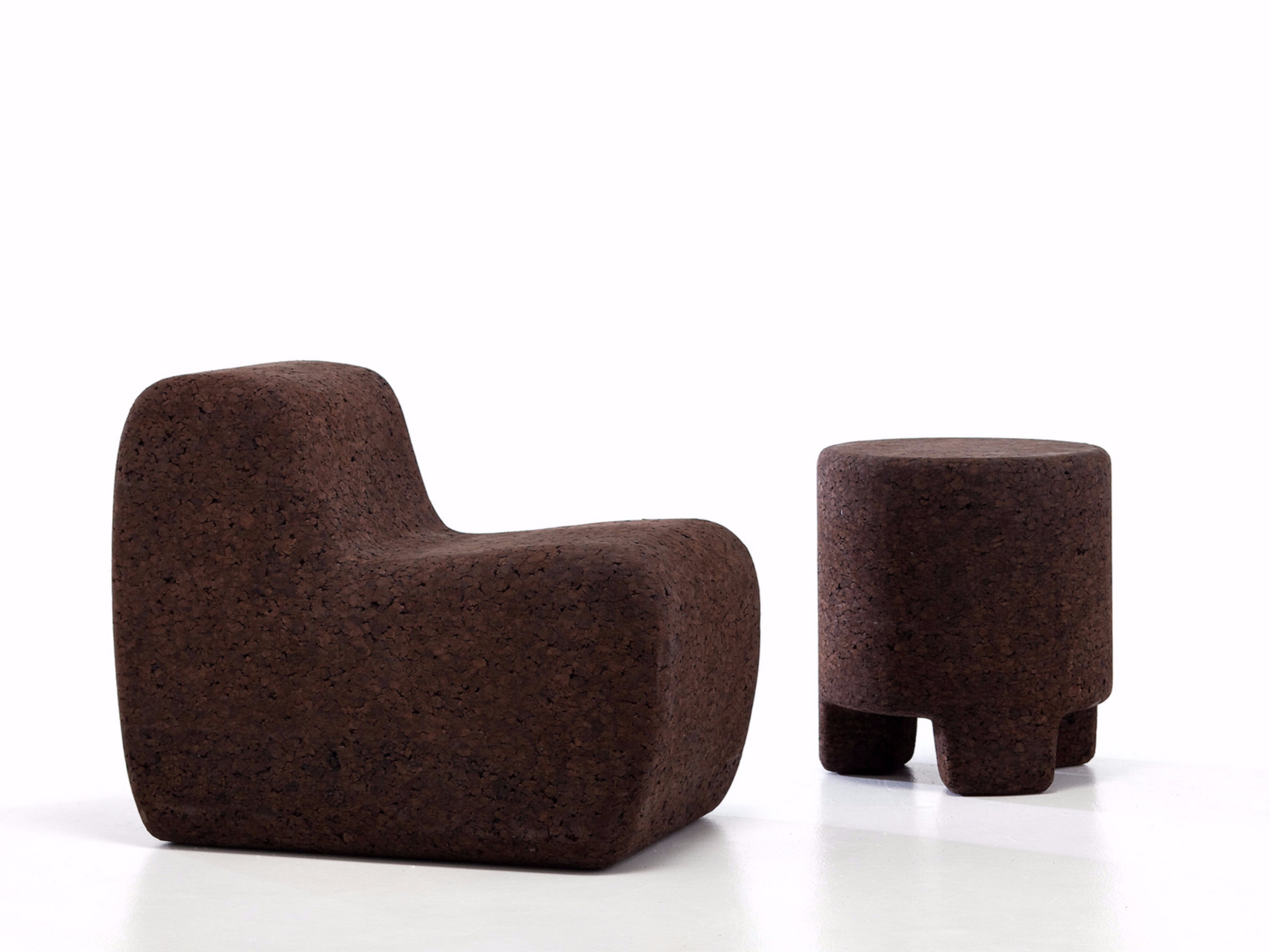 Cork 5 Lounge Chair - Lounge chair made of cork. The protection cover is also available if anyone needs. | Matter of Stuff
