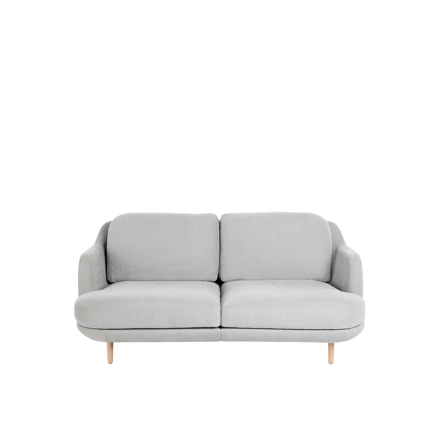 Lune Sofa 200 - The sculptural and curvy Lune design is characteristic of Jaime Hayon. In his quest to capture the intersection of clean Nordic aesthetics and southern elegance, Hayon has paired a playful design with Fritz Hansen's renowned quality. 