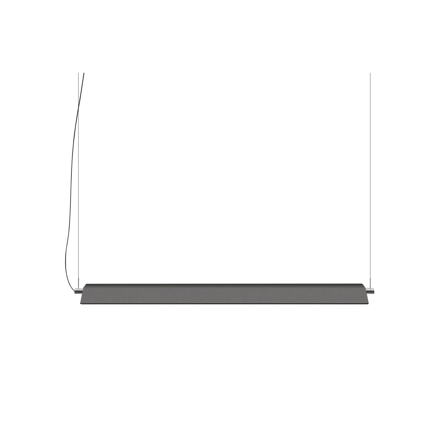 Fienile Suspension Lamp -  The suspension version of Fienile is made in a single size for the roof, whose lower portion contains a homogeneous light source for high performance without glare. The lamp provides light directed upward and downward, thanks to great freedom of movement, permitting rotation of 360 degrees. It is possible to connect up to four suspension lamps (for Europe version) or two suspension lamp (for Americas version) with a single power cord, conserving the rotation of each unit.  Multiples configuration is available please enquire for more information | Matter of Stuff