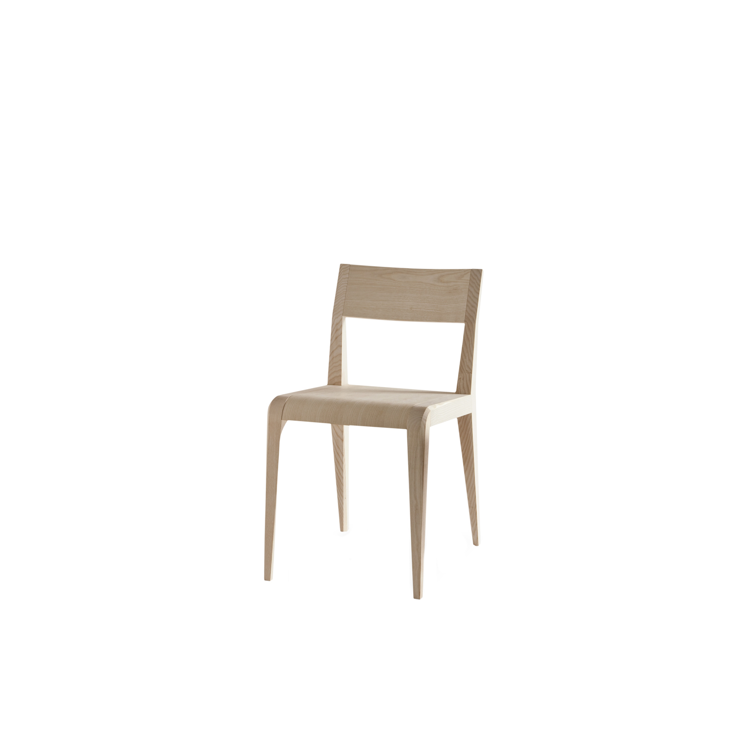 """Aragosta Dining Chair - A plastic pose. Pointed claws and antennas on a chunky body, hence the name, which means lobster in Italian.  The larger parts are rendered lighter through discreet but decisive detail. The woodvein is this crustacean's upper shell, in ashwood.  The Aragosta family is the only one available with open pore """"lobster red"""" lacquering, and it comes in stackable dining chairs, lounge chairs and table versions.  A range colours and finishes are available in a number of combinations. Prices may vary. Please enquire for full details.  